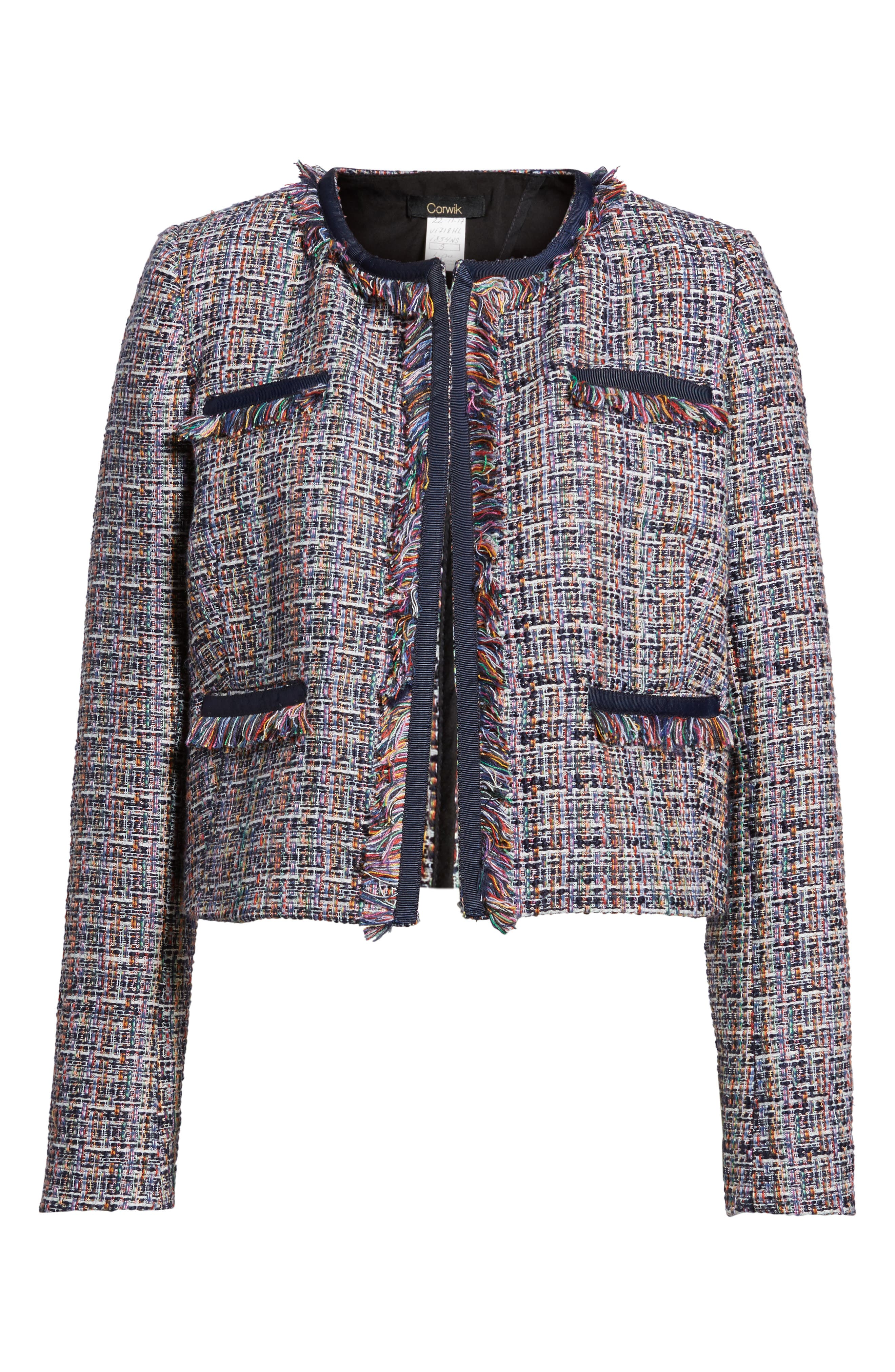 Alternate Image 6  - 1901 Tweed Jacket