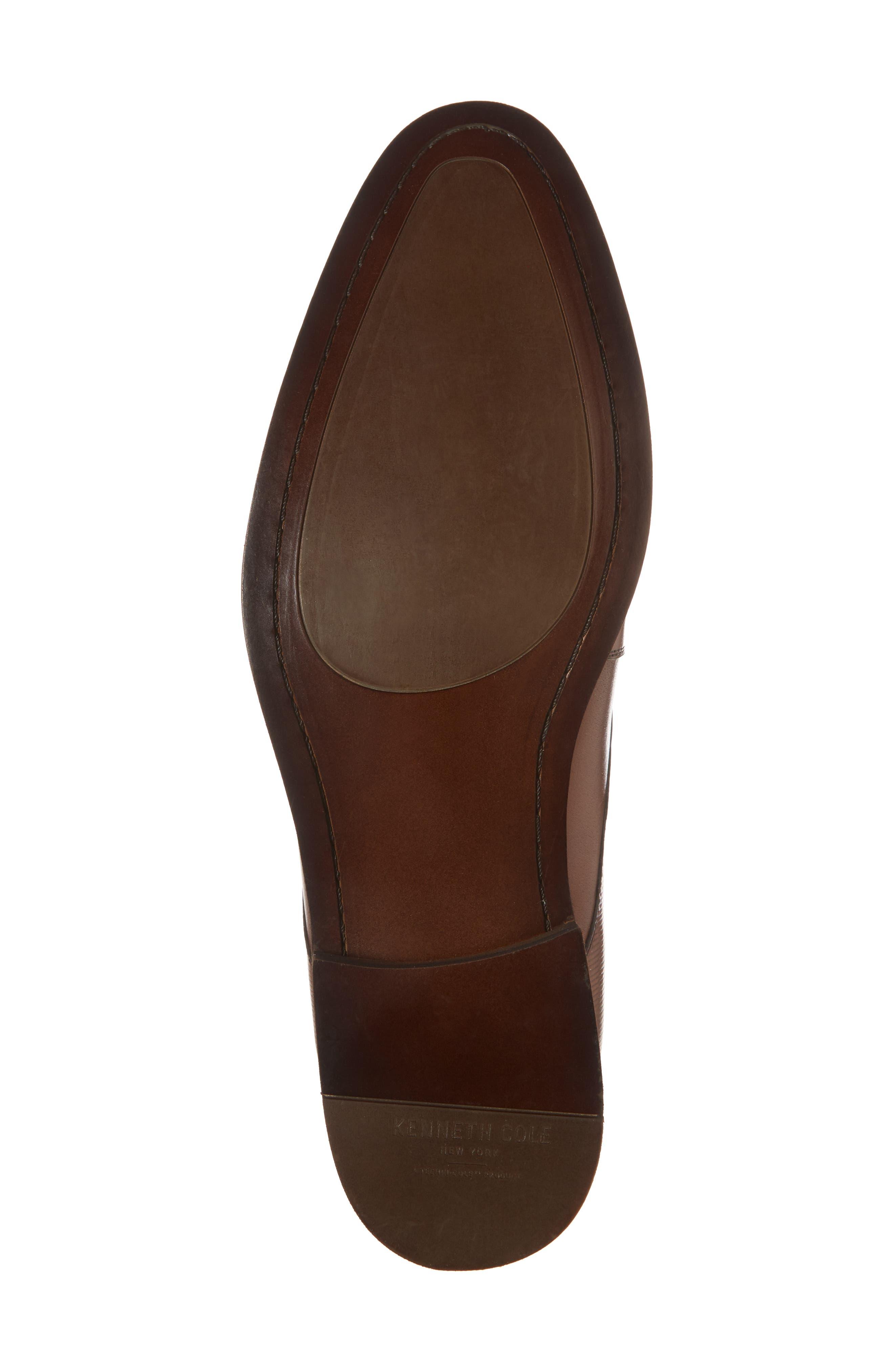 Courage Monk Strap Shoe,                             Alternate thumbnail 6, color,                             Cognac Leather