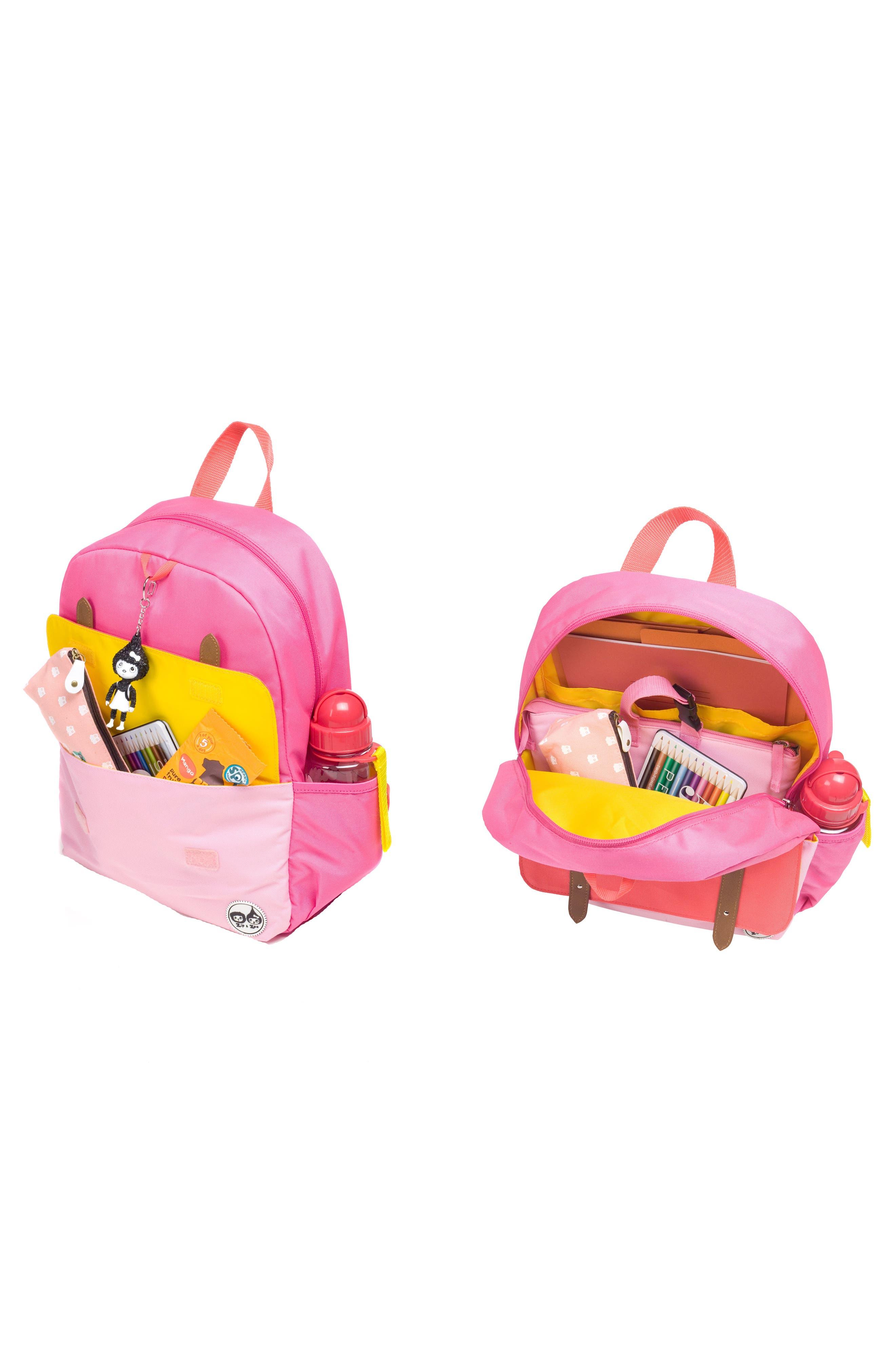 Alternate Image 9  - Babymel Zip & Zoe Colorblock Junior Backpack (Kids)
