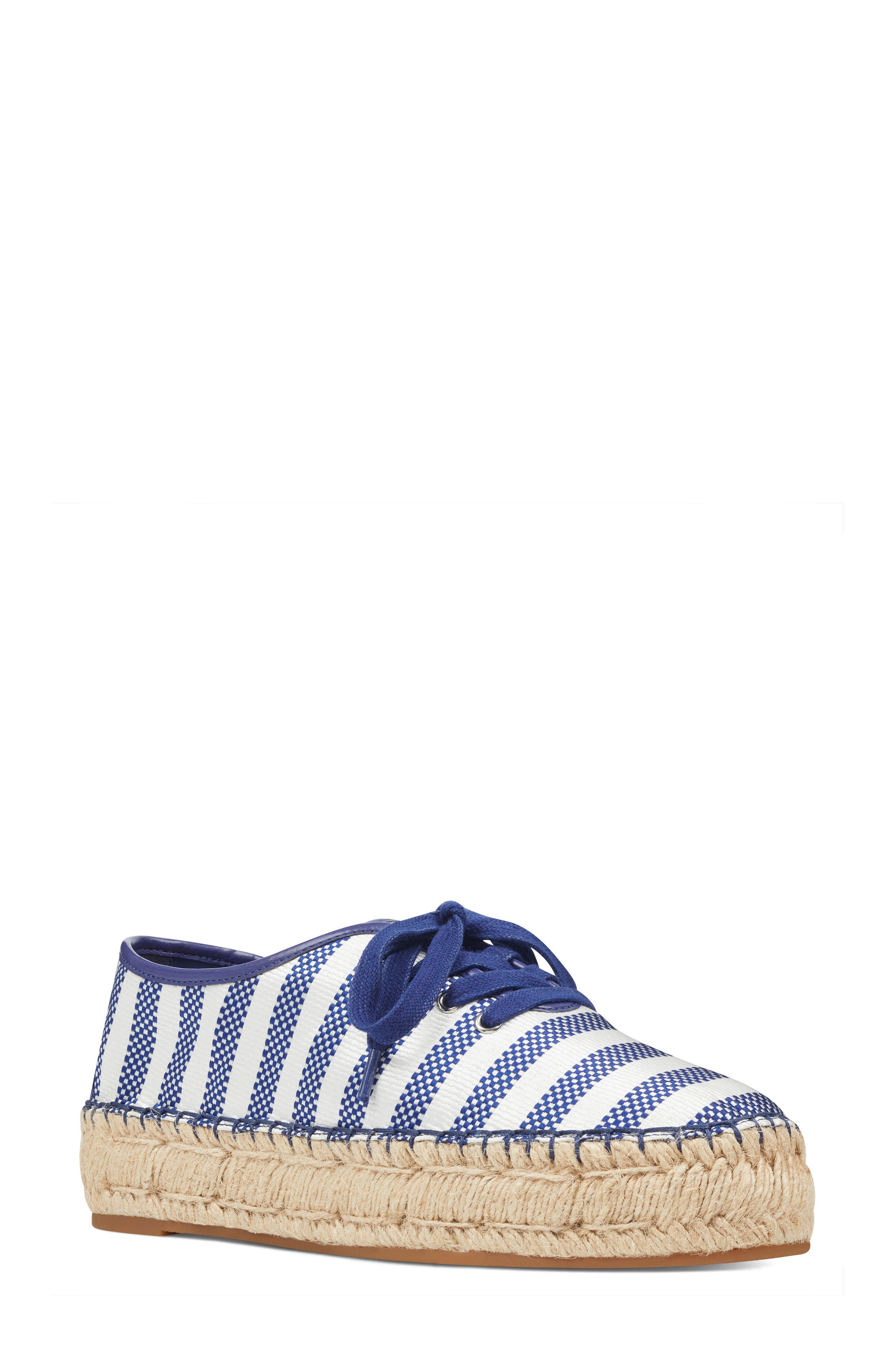 Gingerbread Espadrille Sneaker,                             Main thumbnail 1, color,                             Dark Blue/ Off White Satin