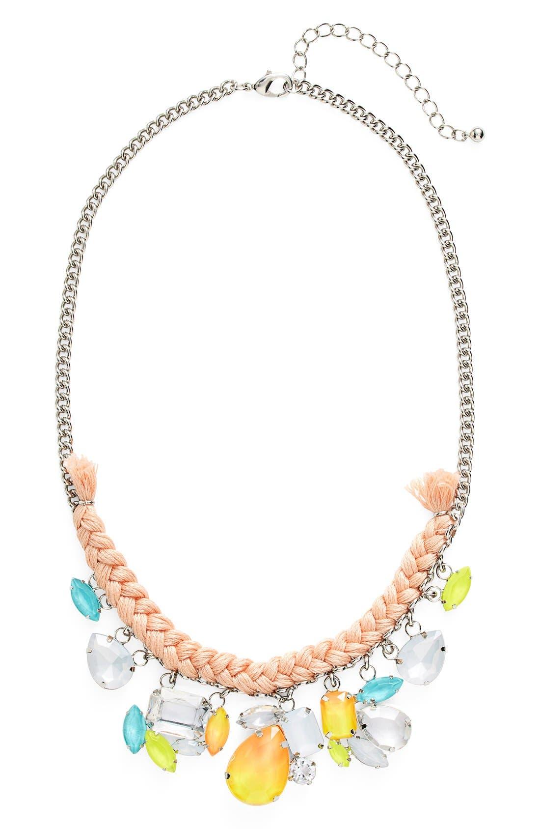 Main Image - Missing Piece Fluorescent Drop Necklace