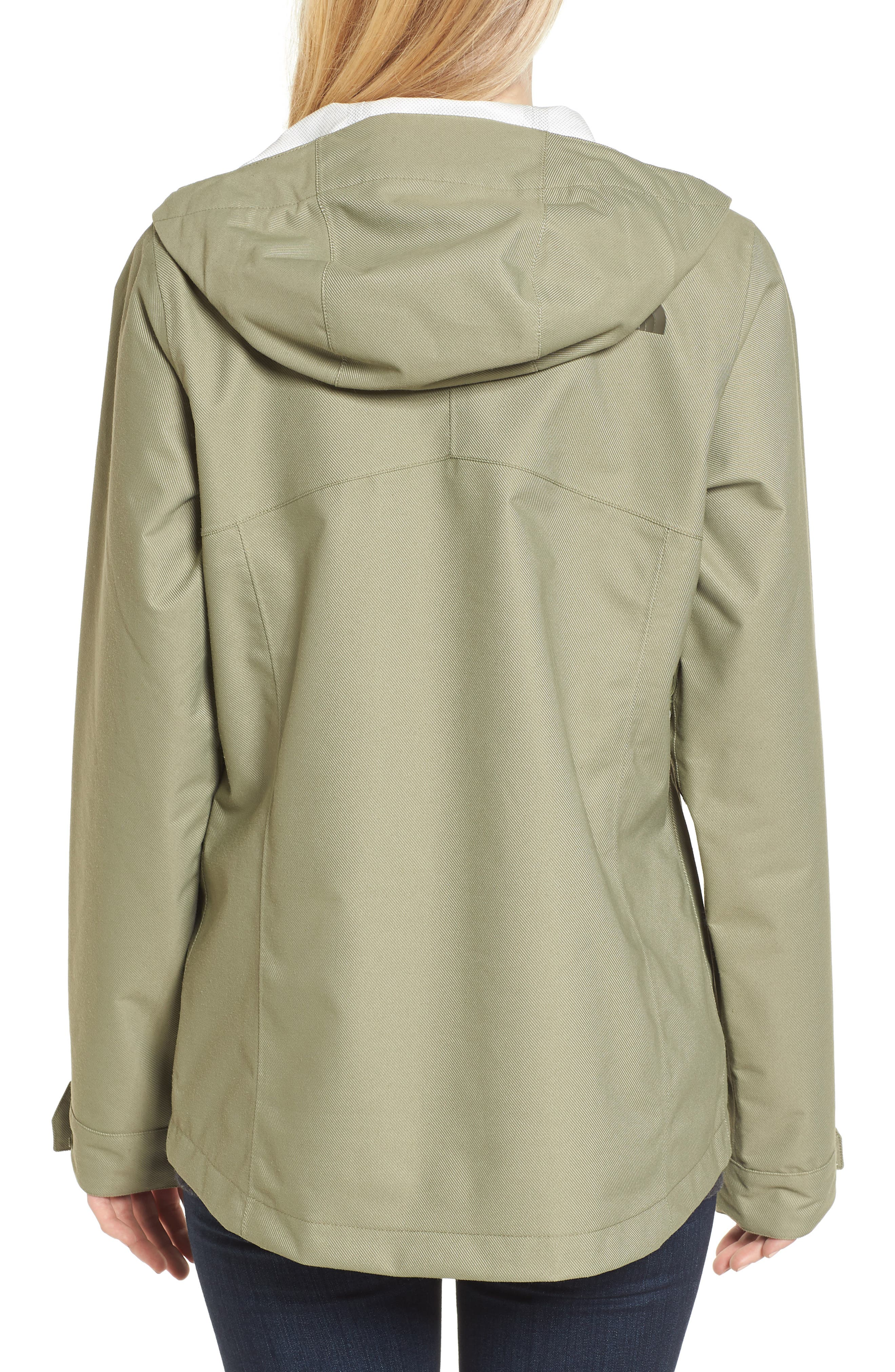 Berrien Waterproof Jacket,                             Alternate thumbnail 2, color,                             Deep Lichen Green Denim