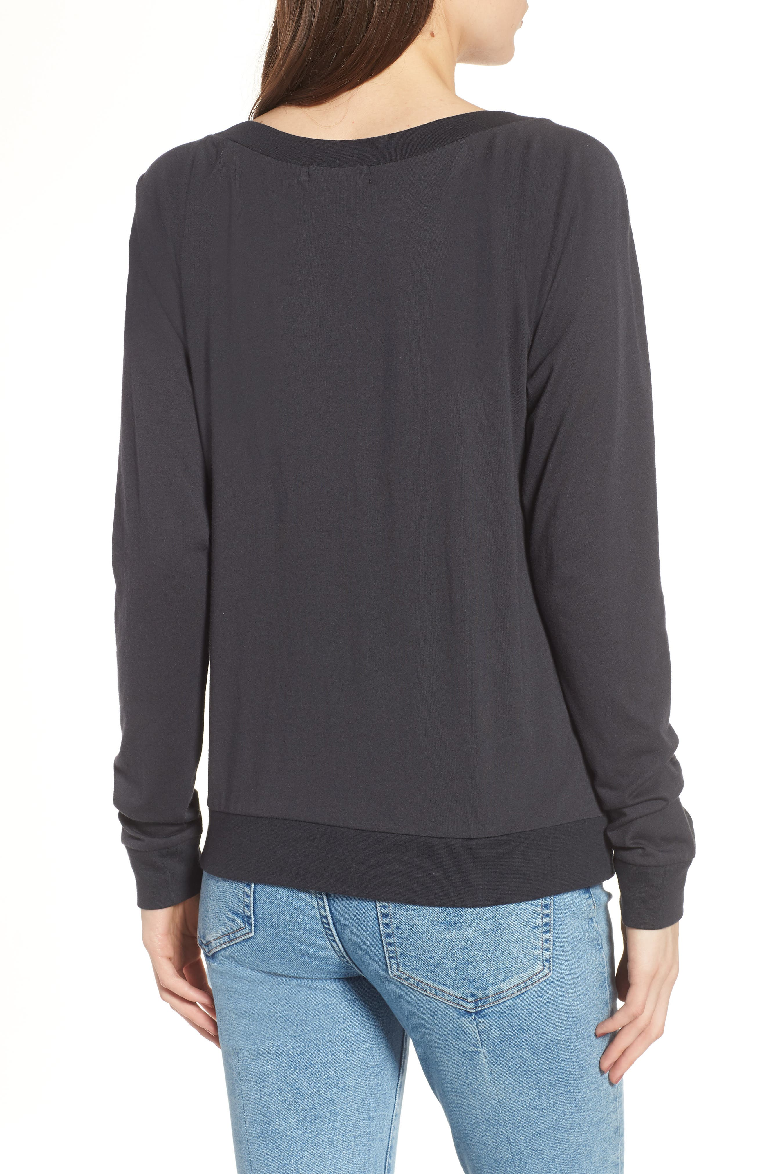 Candy - Vacation Pullover,                             Alternate thumbnail 2, color,                             Black