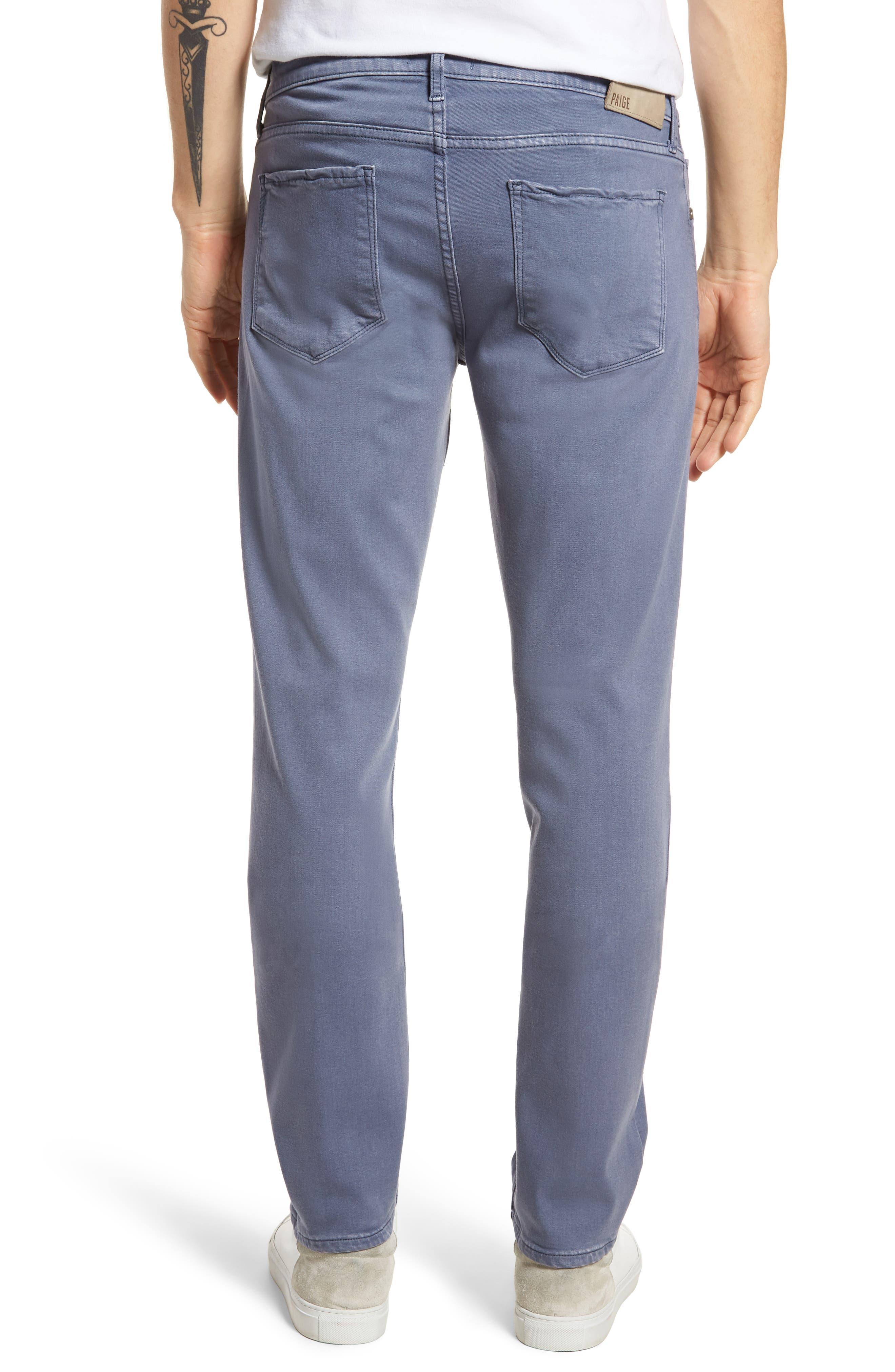 Transcend - Federal Slim Straight Leg Jeans,                             Alternate thumbnail 2, color,                             Vintage Smokey Blue