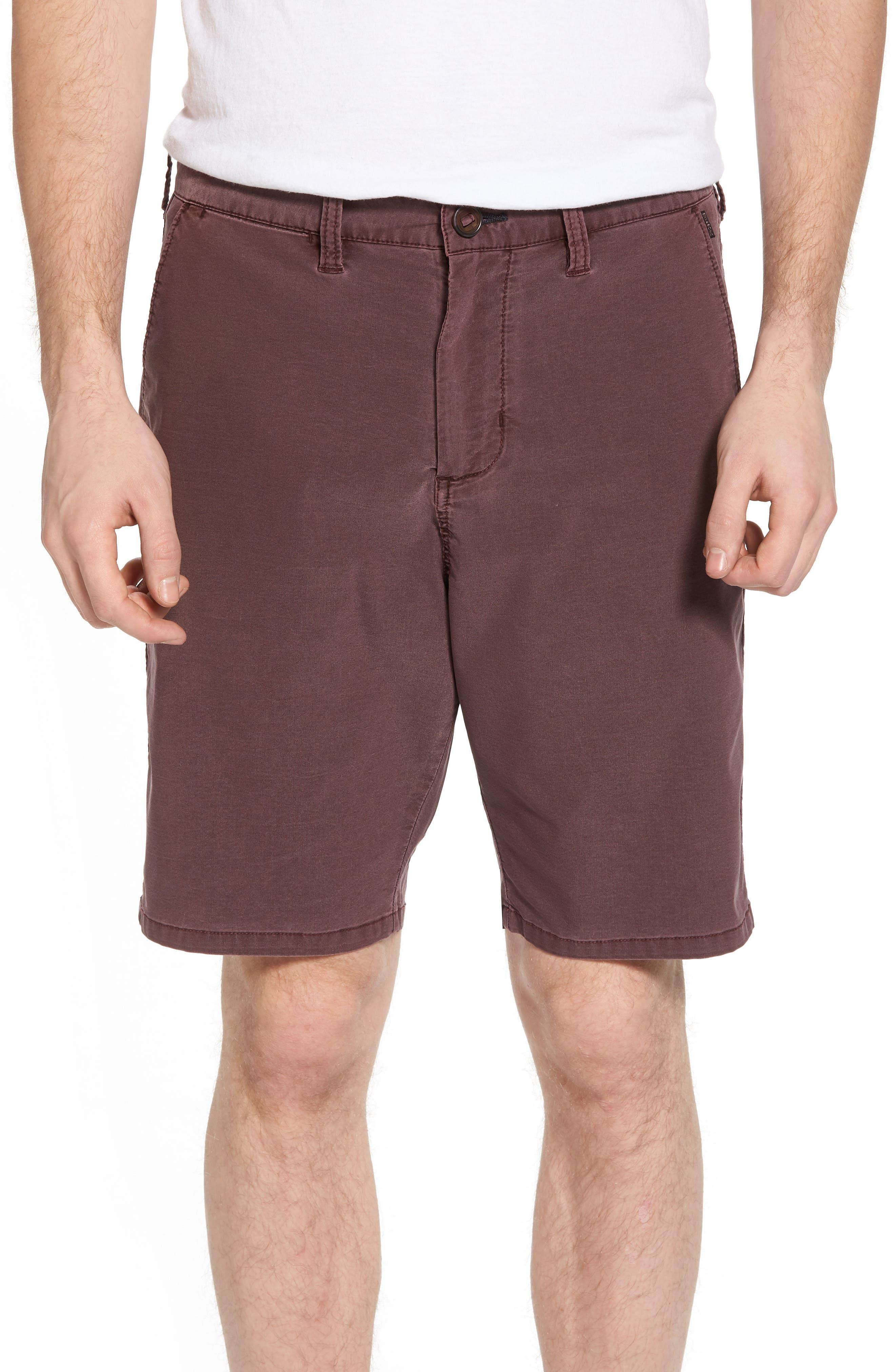 New Order X Overdye Hybrid Shorts,                         Main,                         color, Rum