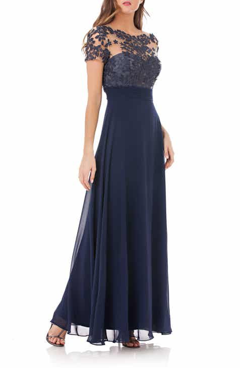 Womens Blue Formal Dresses Nordstrom