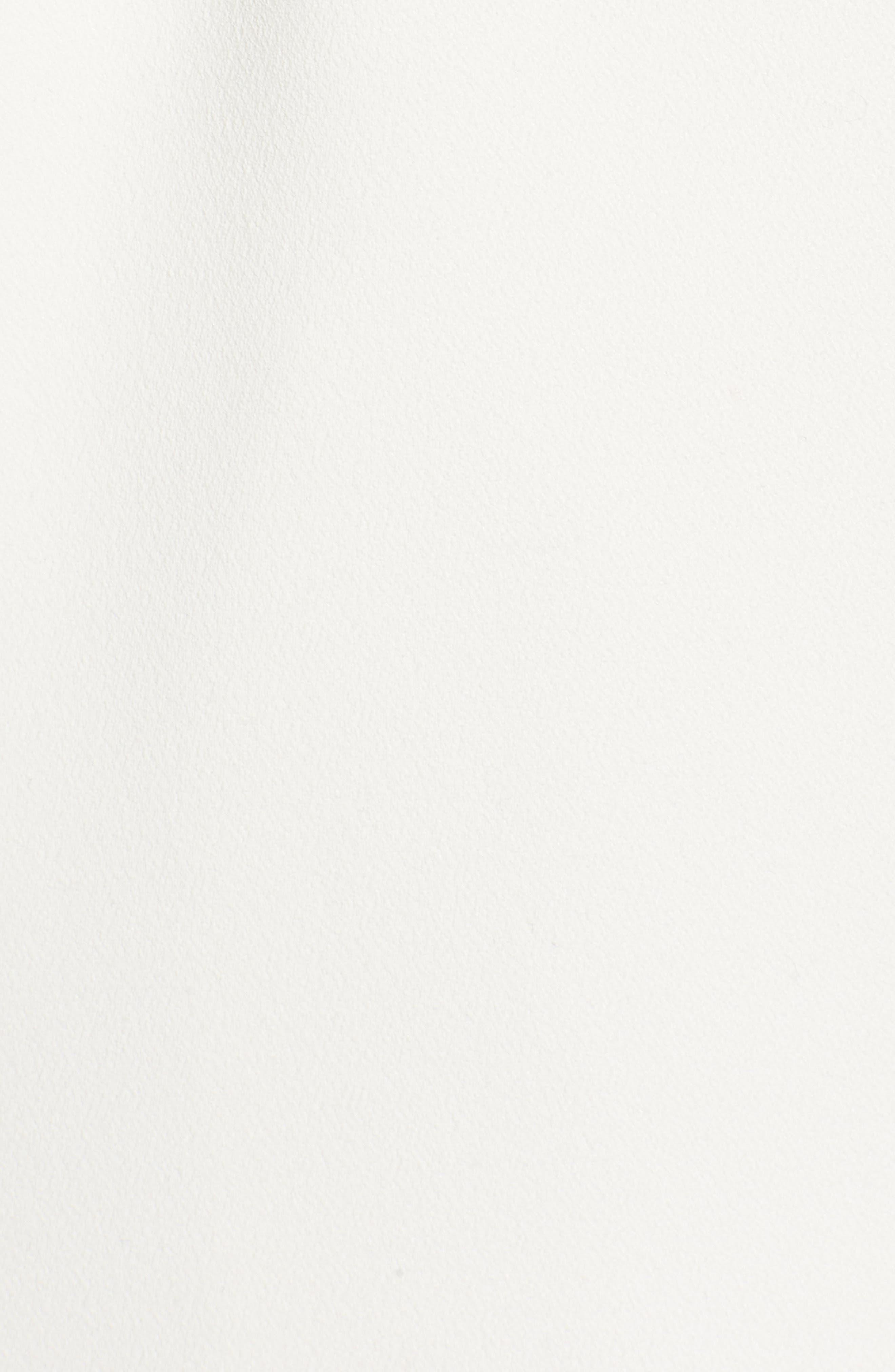 Drape Trench Coat,                             Alternate thumbnail 5, color,                             White