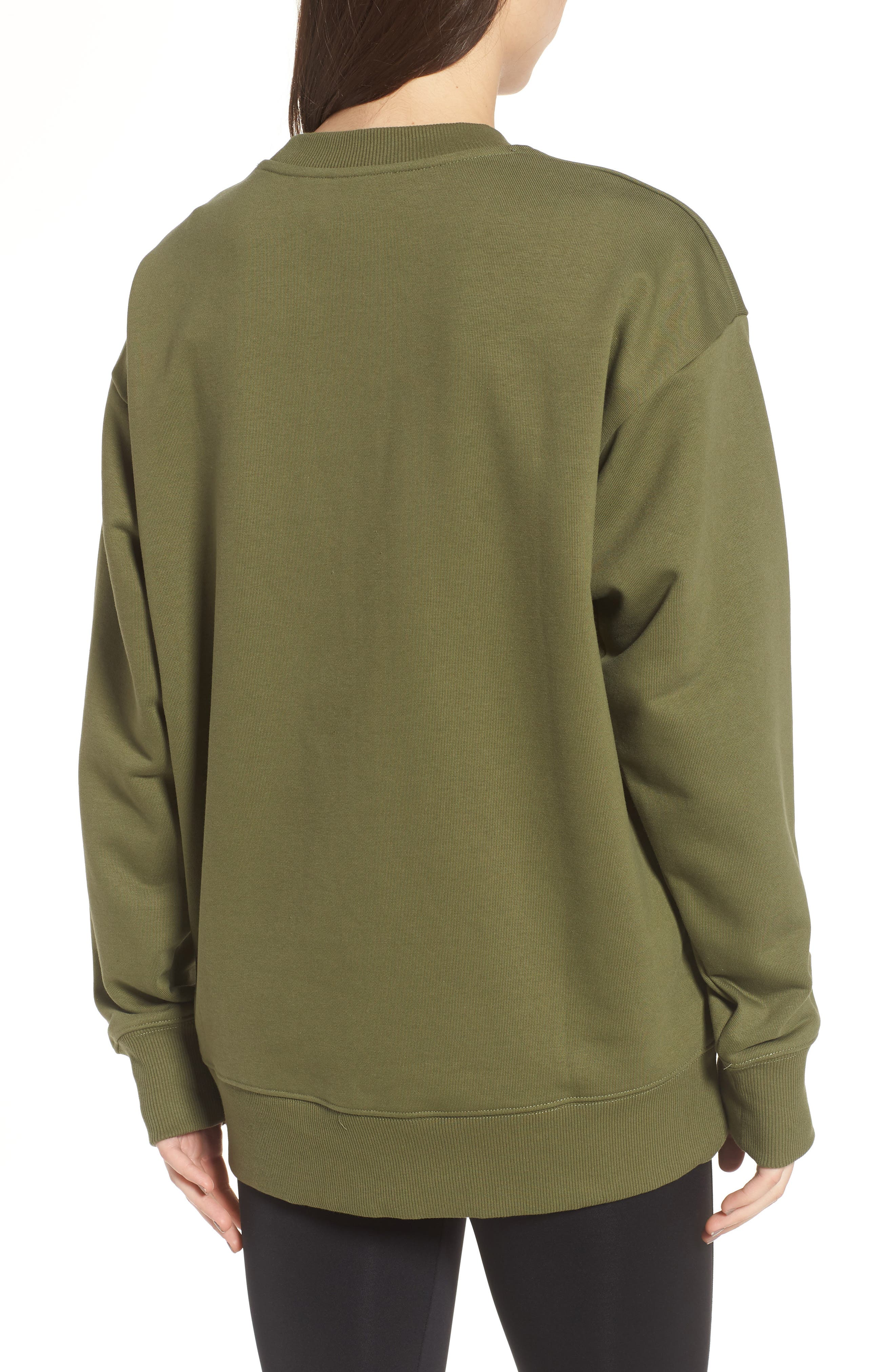 Alternate Image 2  - IVY PARK® Badge Logo Sweatshirt