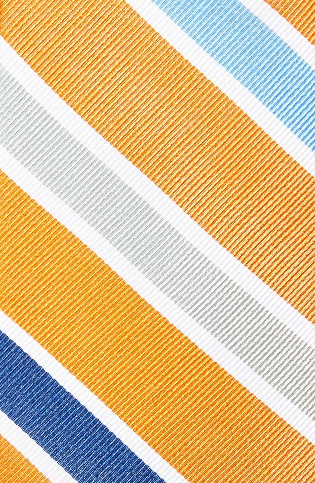 Alternate Image 2  - 1901 'Como Stripe' Woven Silk Tie