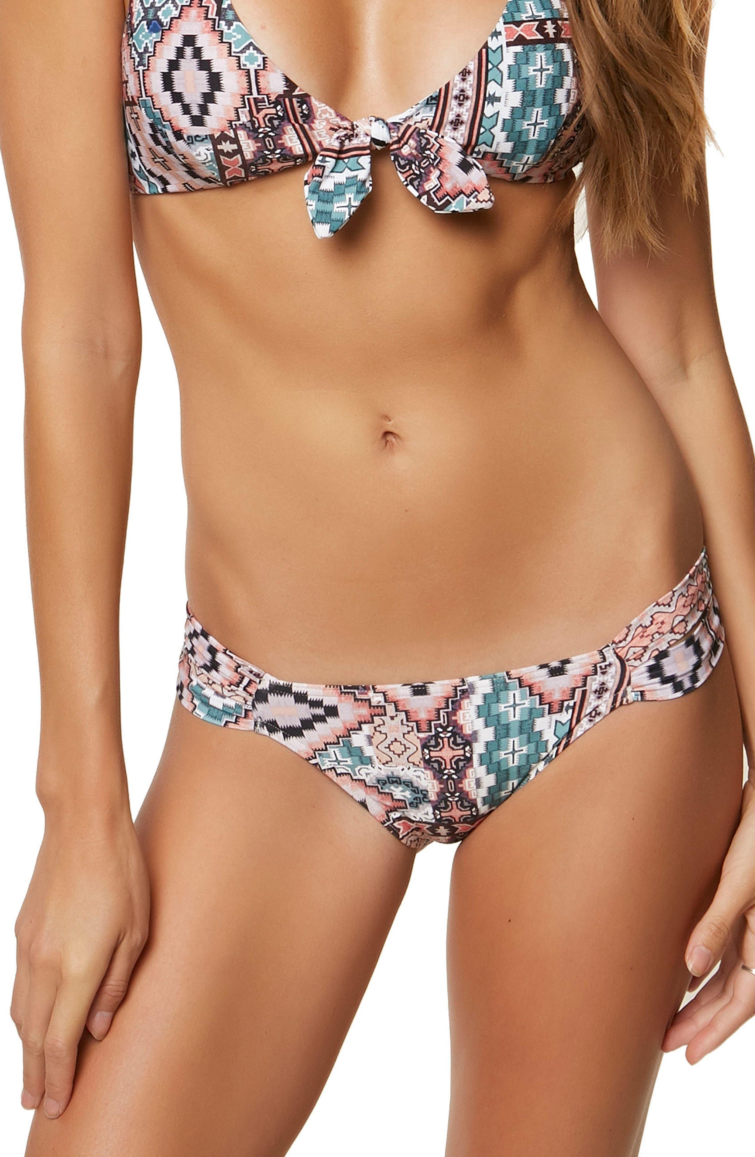 Greer Reversible Hipster Bikini Bottoms,                             Main thumbnail 1, color,                             Aqua Haze