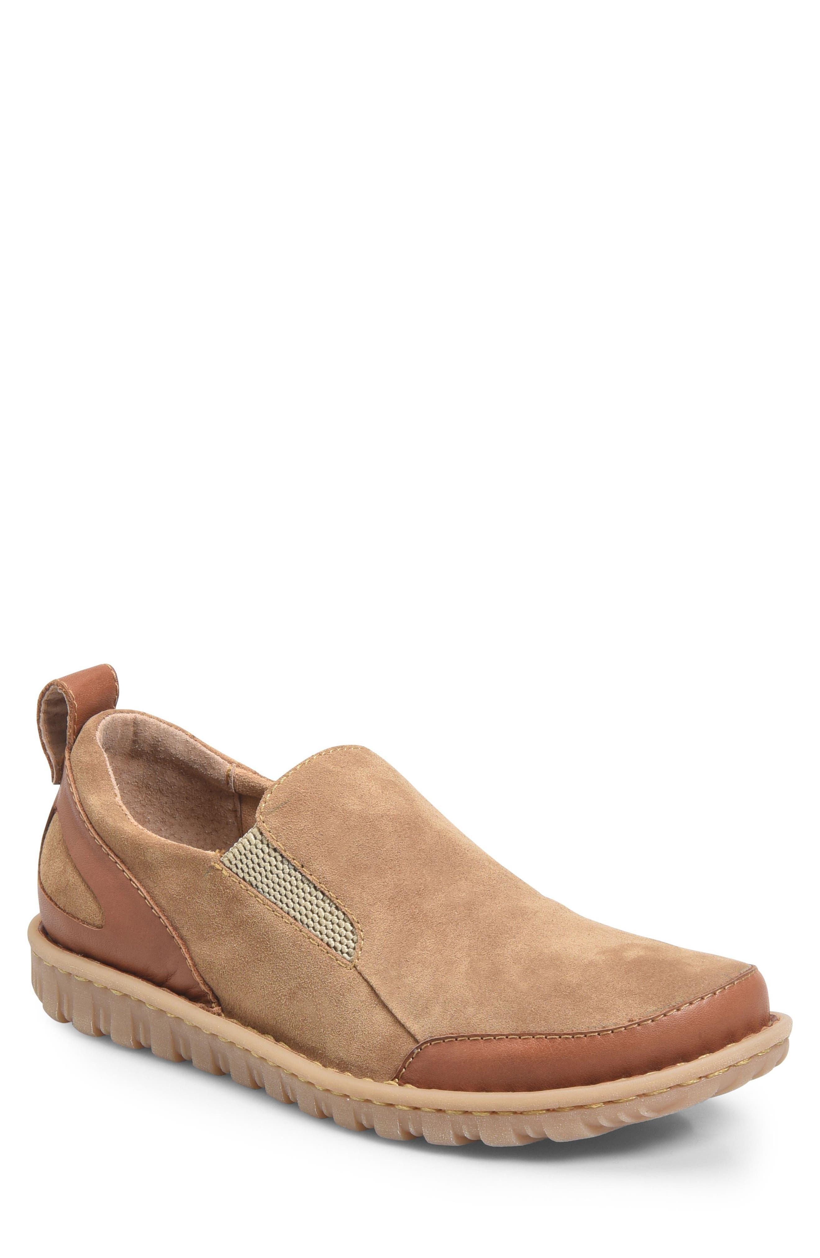 Pepper Slip-On,                         Main,                         color, Light Brown Leather
