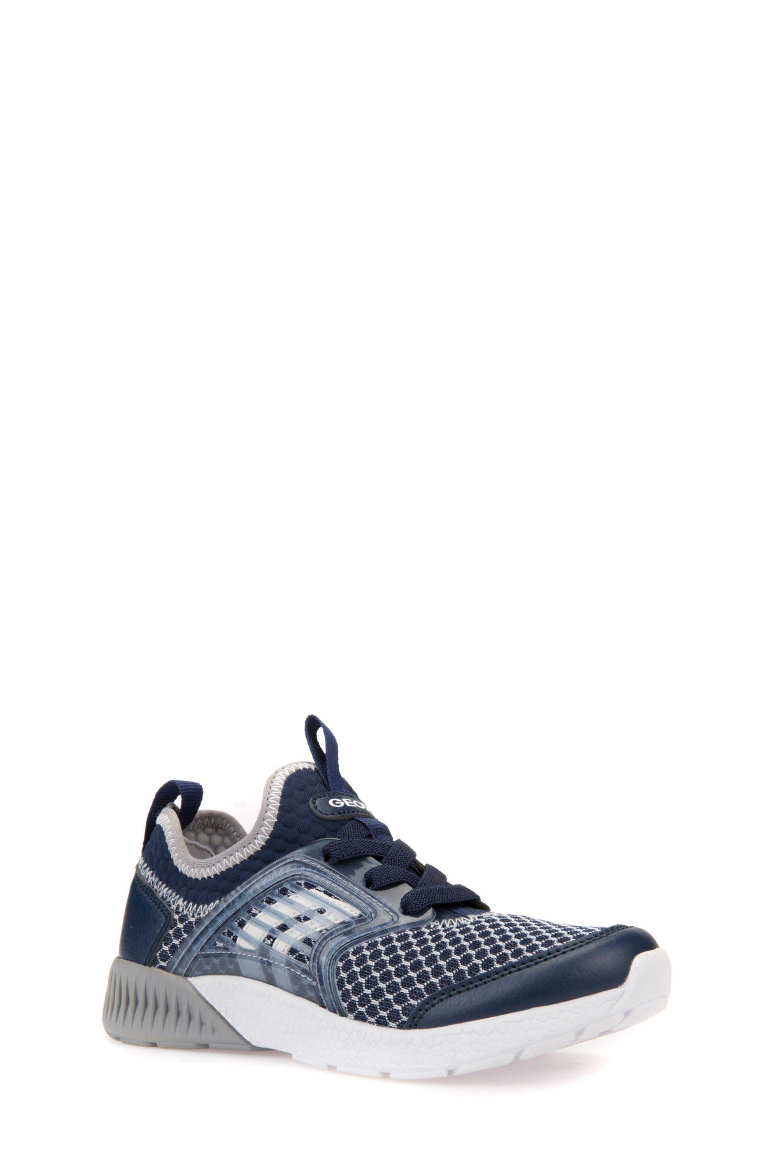 Sveth Sock Sneaker,                         Main,                         color, Navy/ Grey