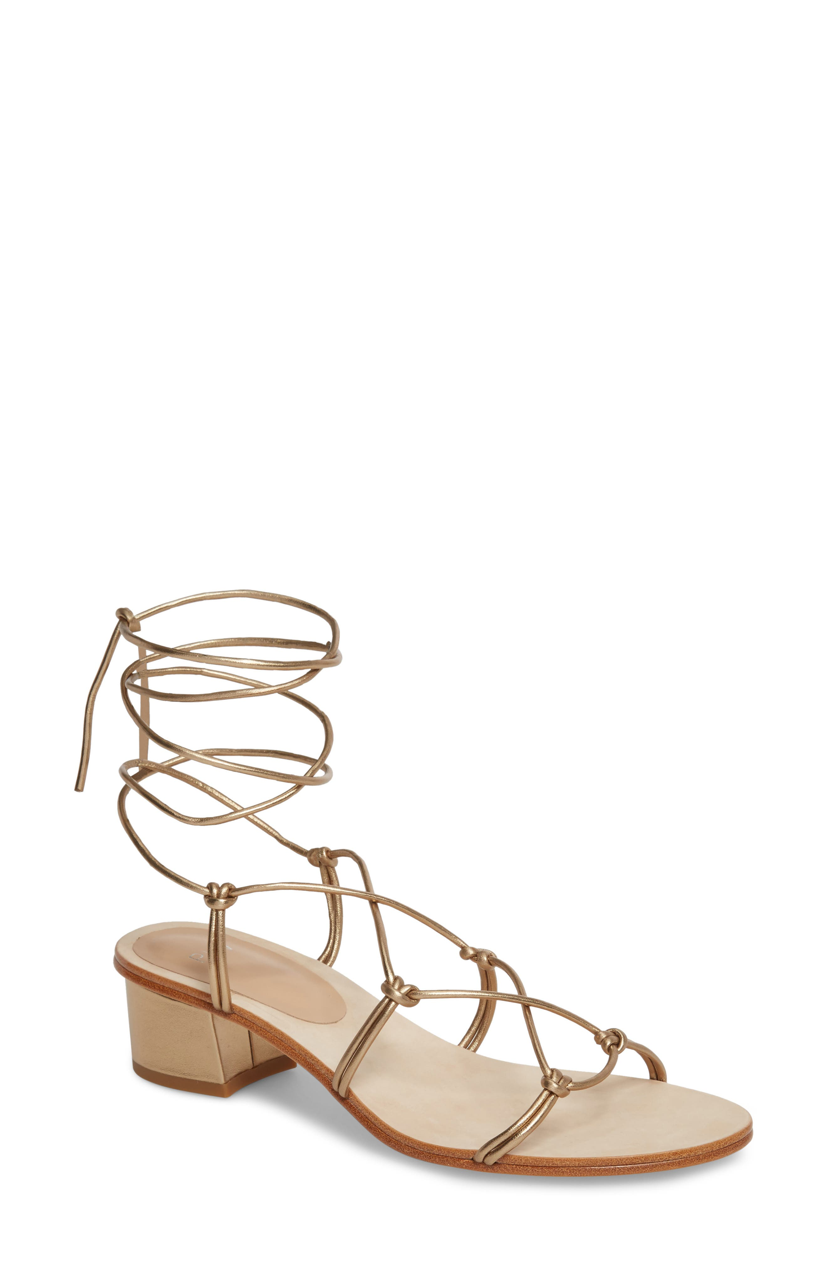 Pour la Victoire Jules Ankle Tie Sandal (Women)