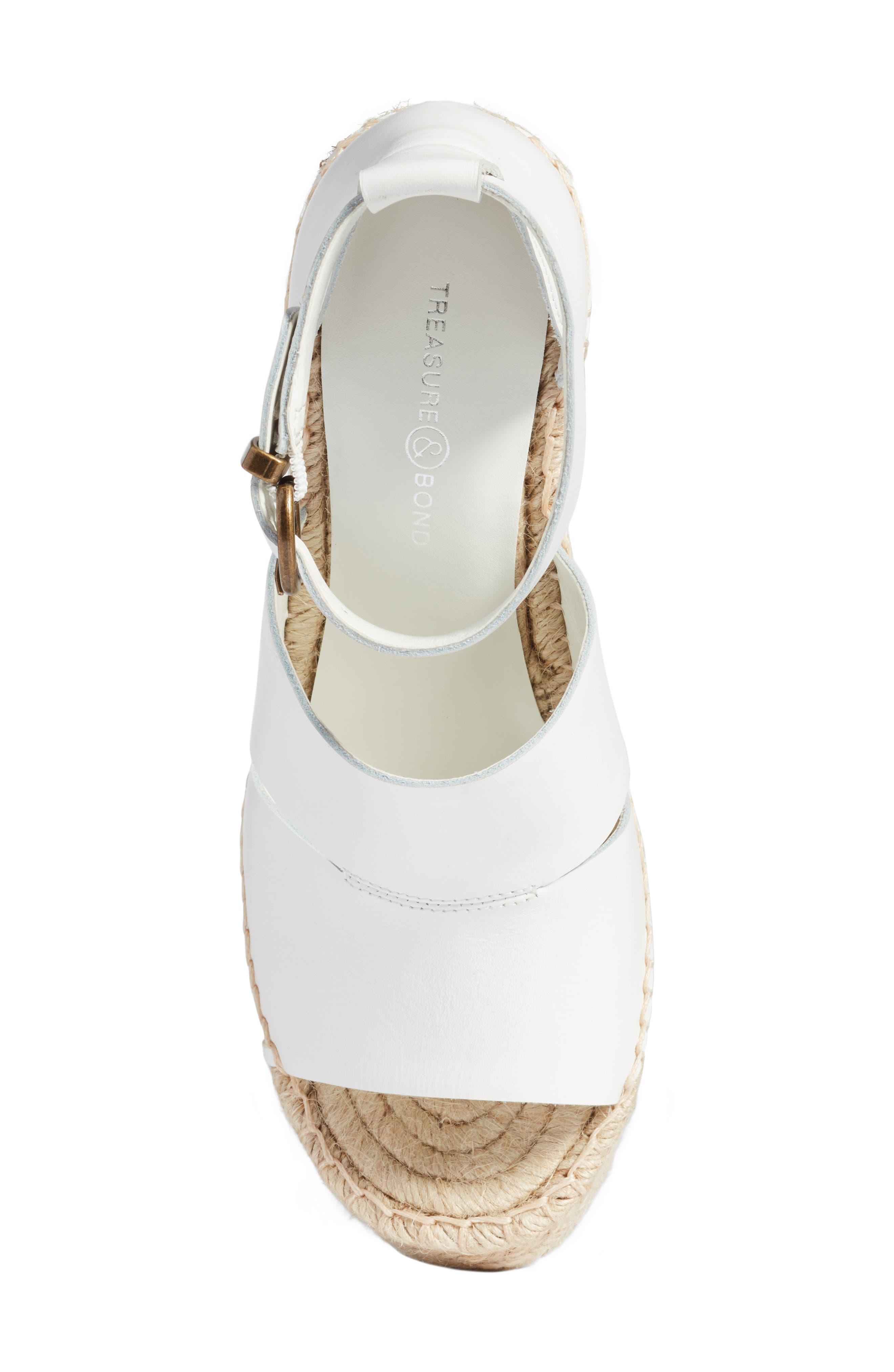Alternate Image 5  - Treasure & Bond Sannibel Platform Wedge Sandal (Women)