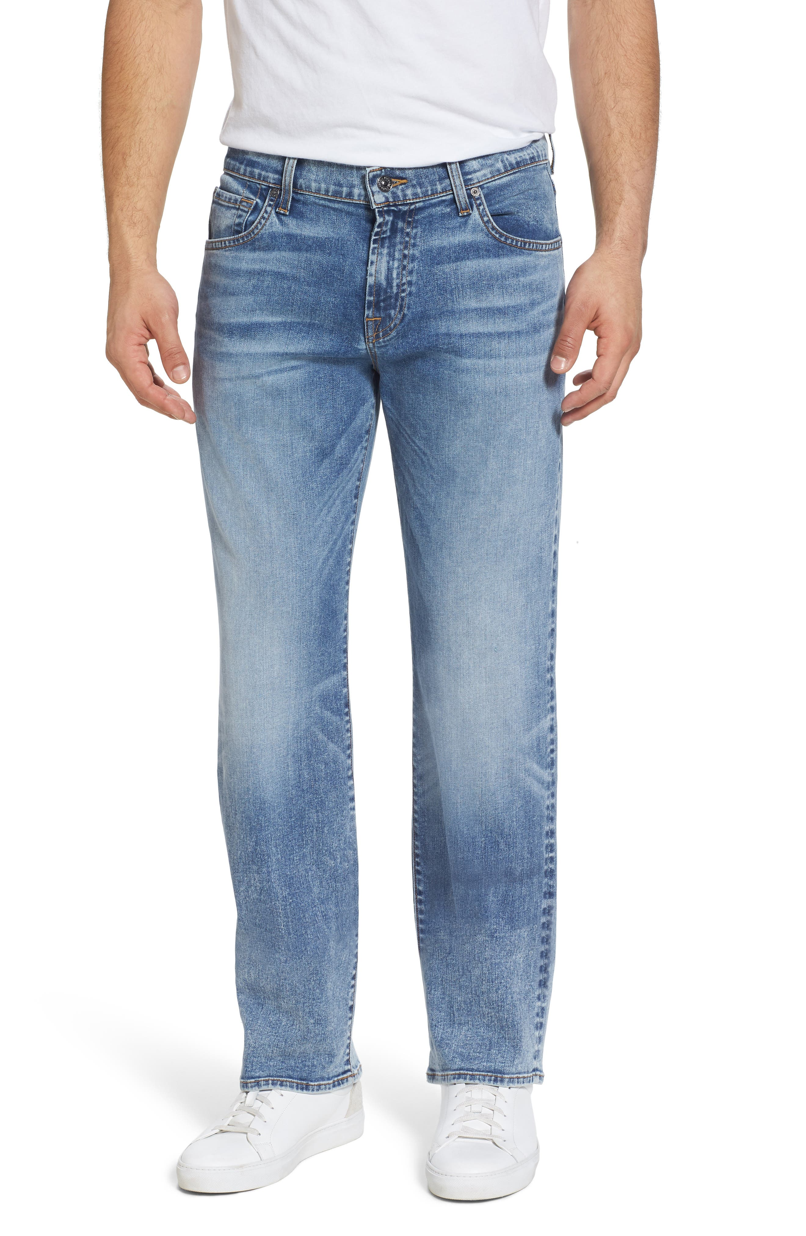 Austyn - Luxe Performance Relaxed Fit Jeans,                         Main,                         color, Death Valley