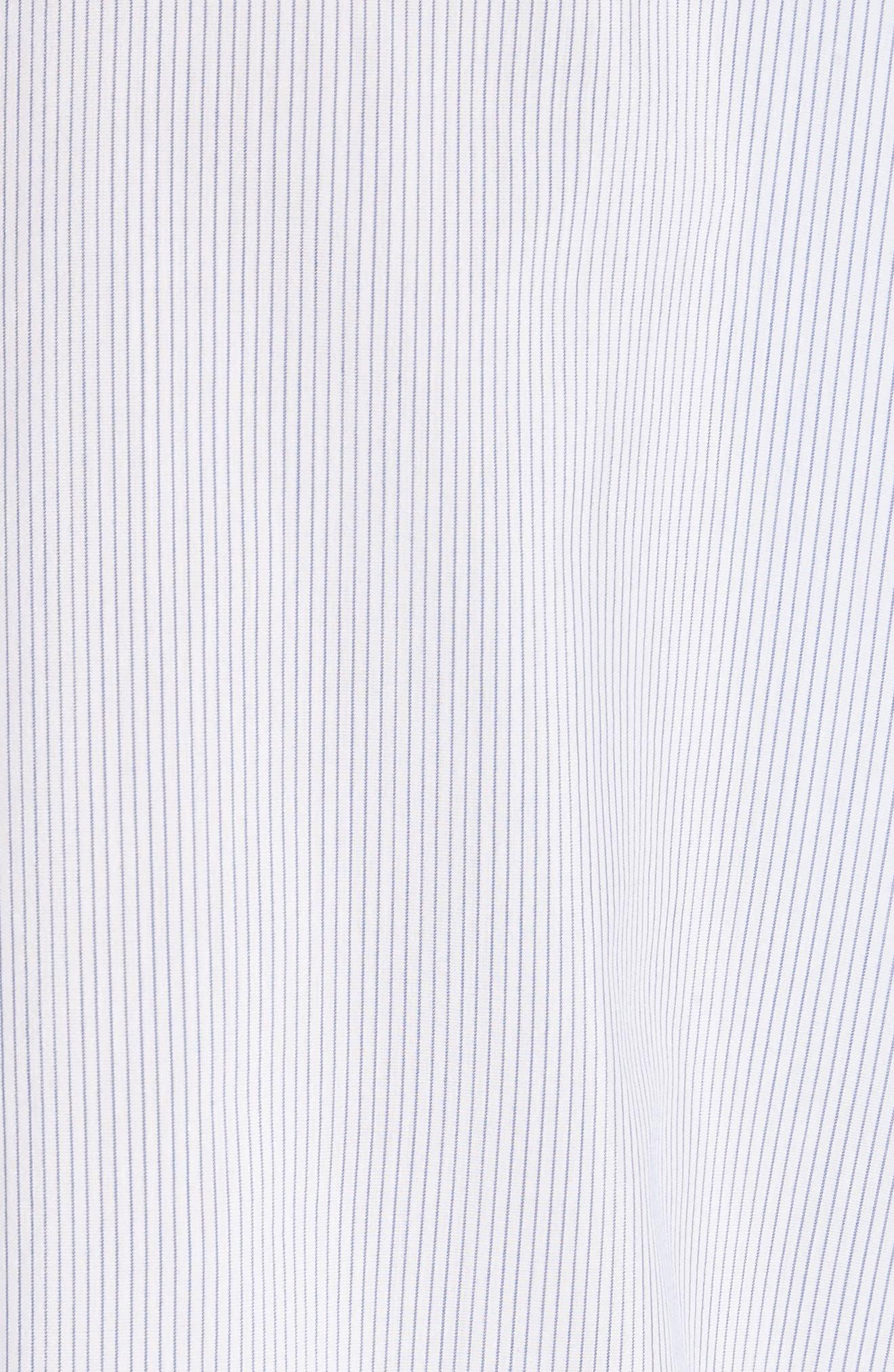 Breezy Stripe Saige Blouse,                             Alternate thumbnail 6, color,                             White Multi