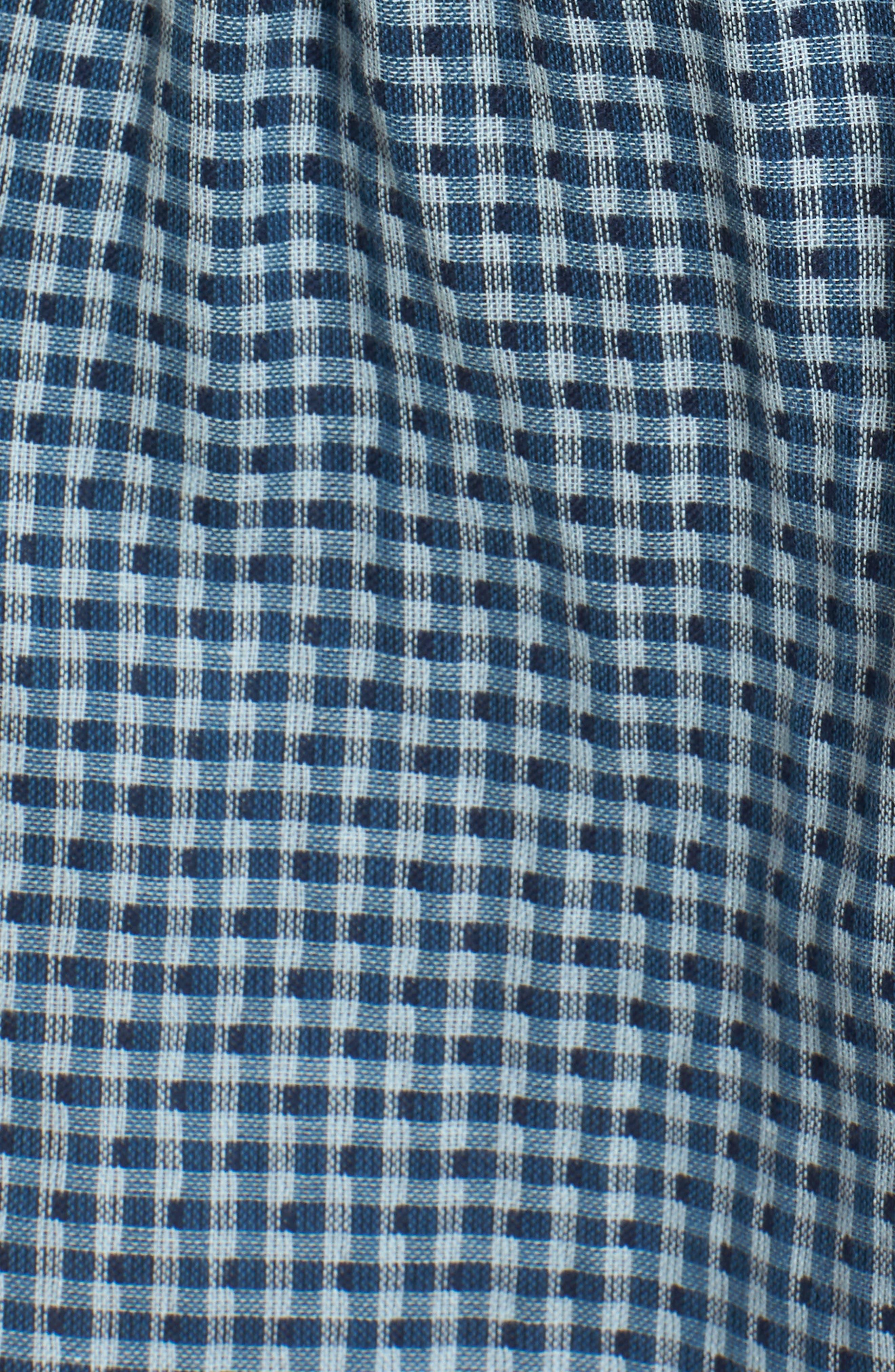 Nicki Cold Shoulder Minidress,                             Alternate thumbnail 5, color,                             Sea