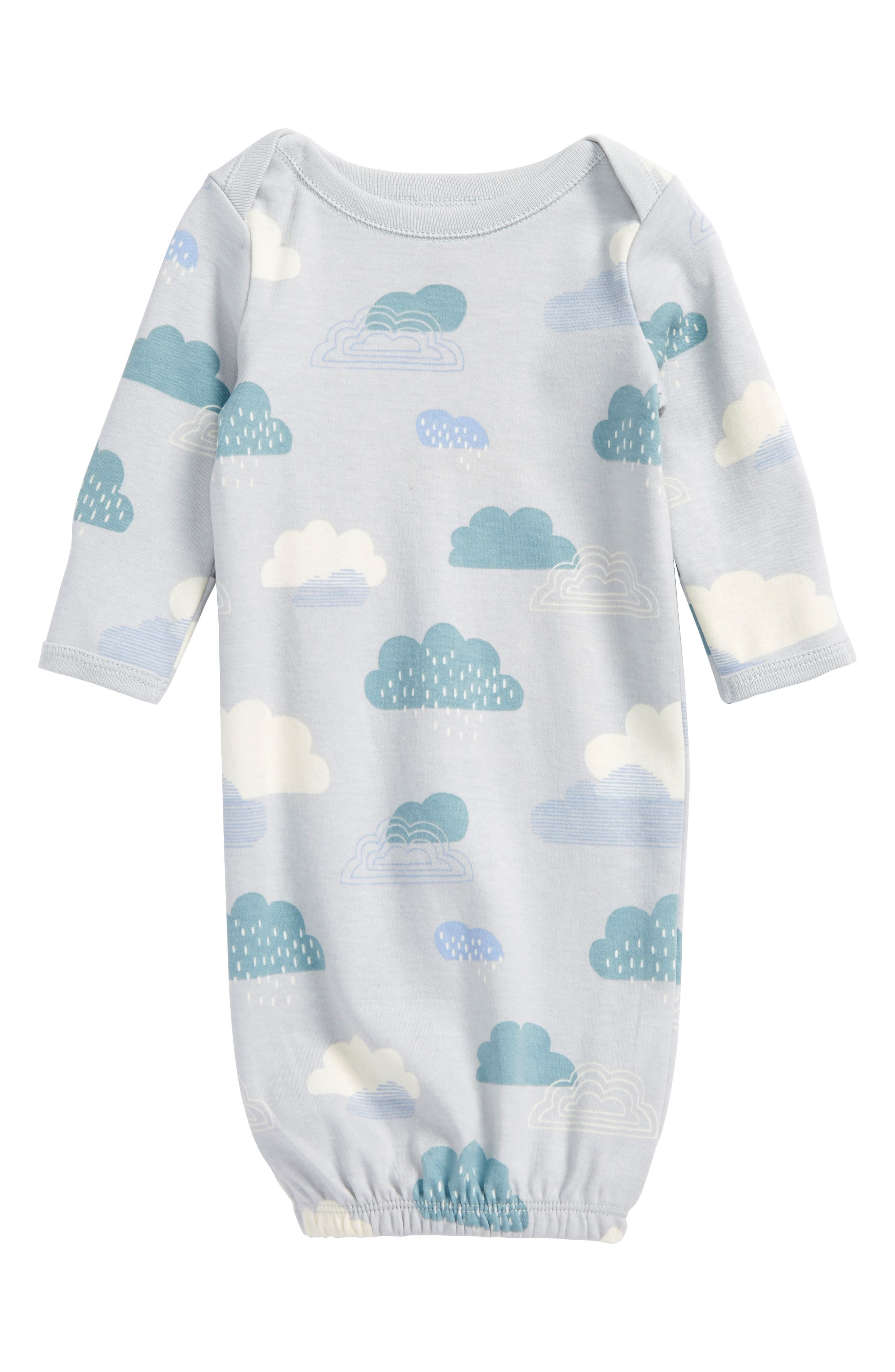 Tea Collection Cloud Print Gown (Baby)