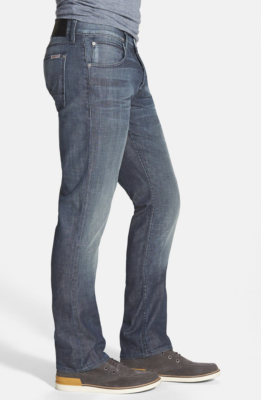 Alternate Image 2  - Hudson Jeans 'Byron' Slim Straight Leg Jeans (Commander)