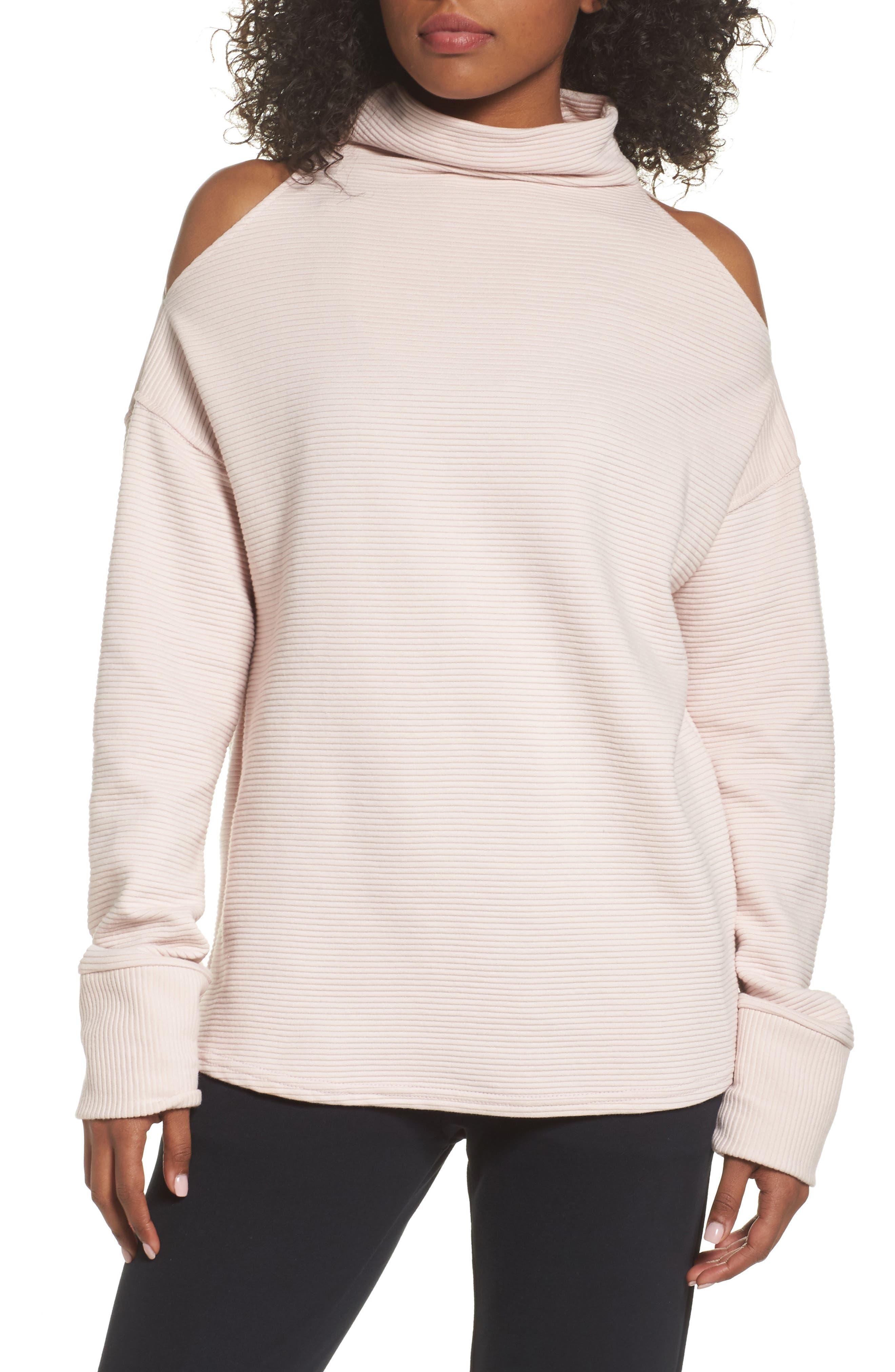 Varley Hampton Cold Shoulder Sweatshirt