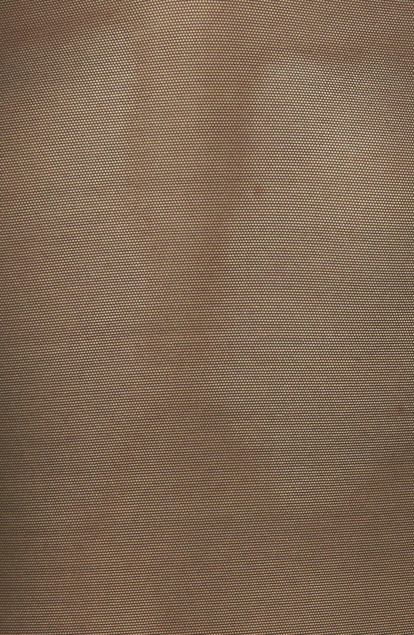 Mesh Bodysuit,                             Alternate thumbnail 6, color,                             Black