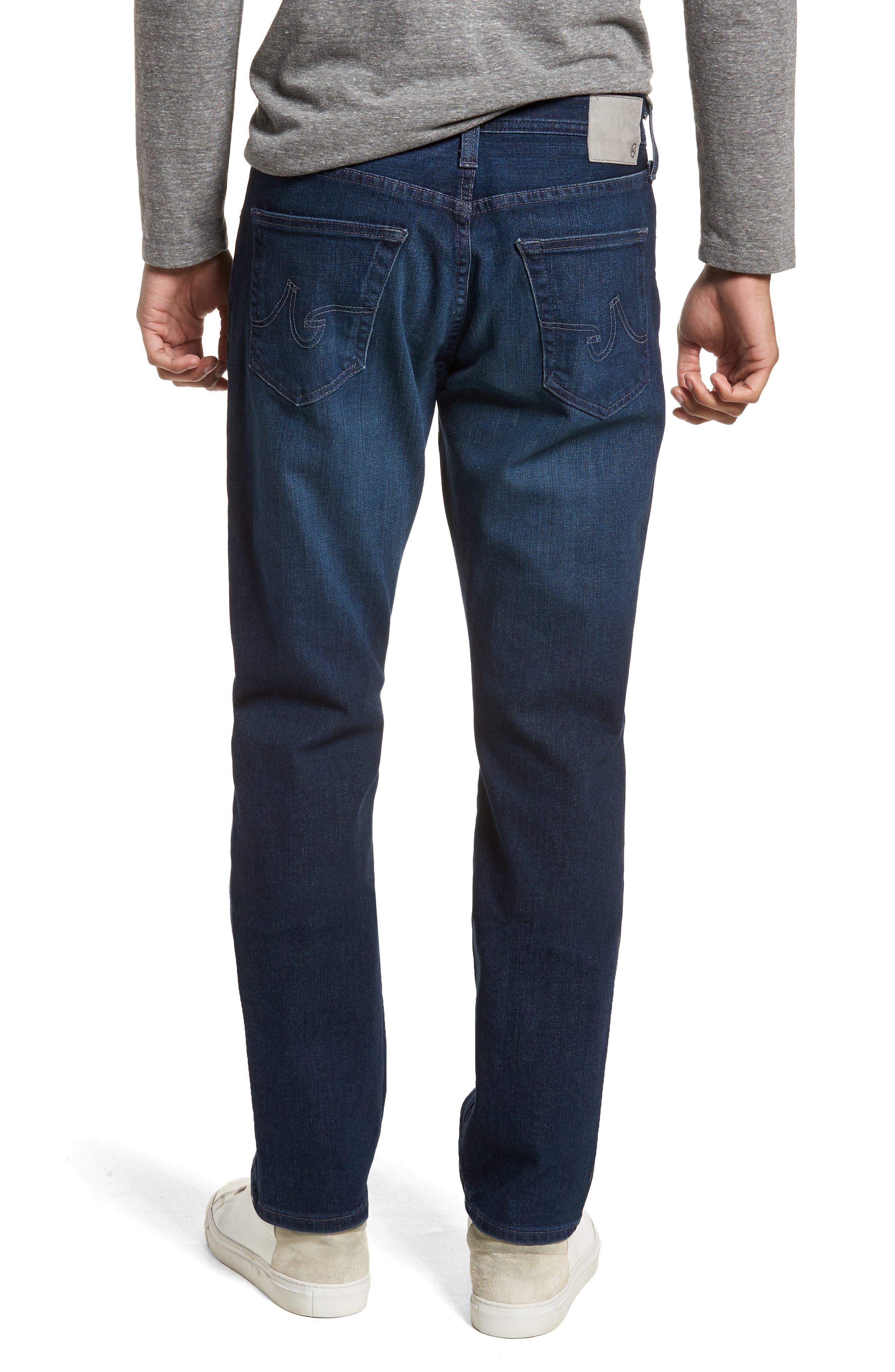 Everett Slim Straight Leg Jeans,                             Alternate thumbnail 2, color,                             Cross Creek