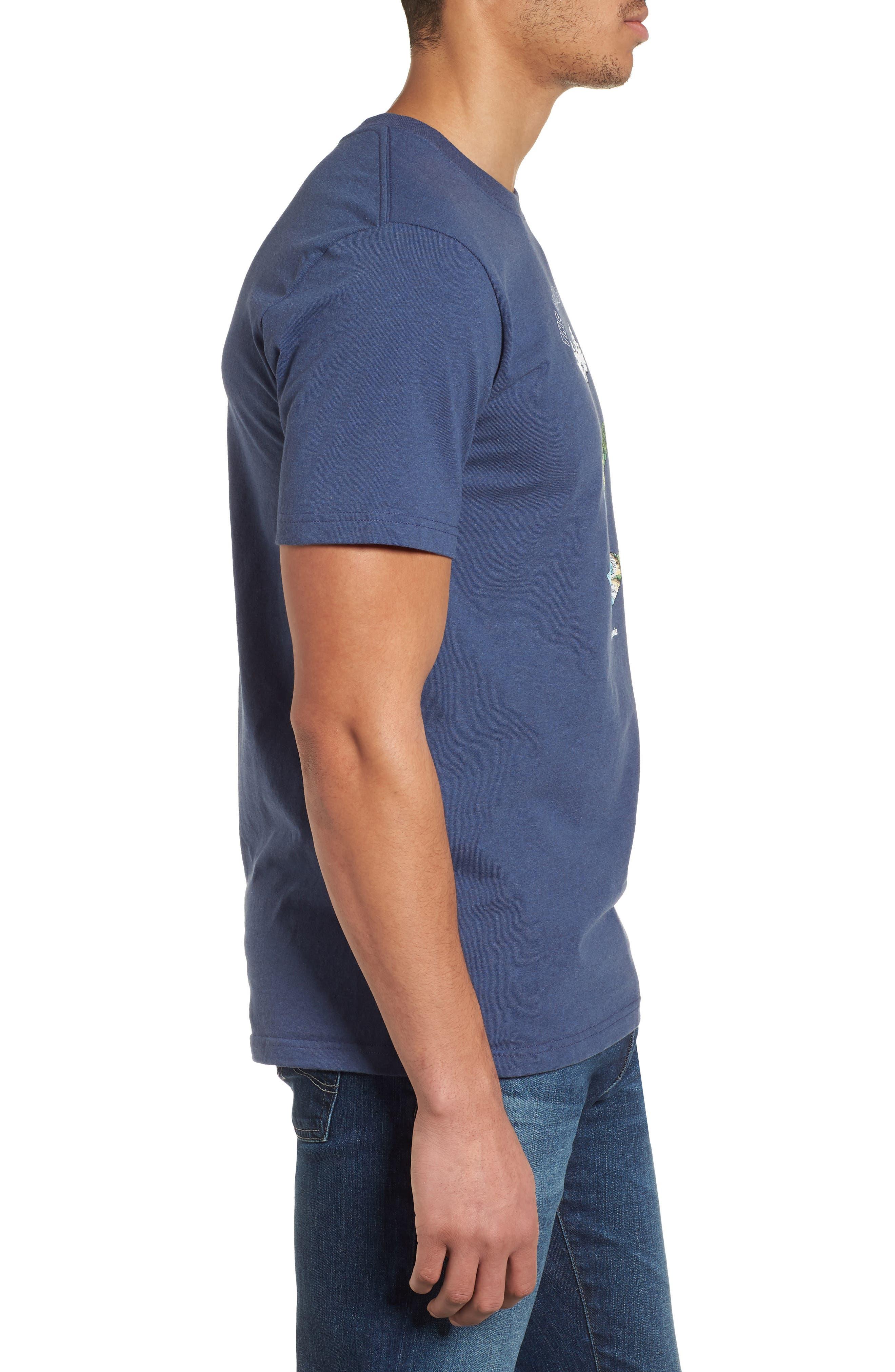 Glacier Born Responsibili-Tee T-Shirt,                             Alternate thumbnail 3, color,                             Dolomite Blue
