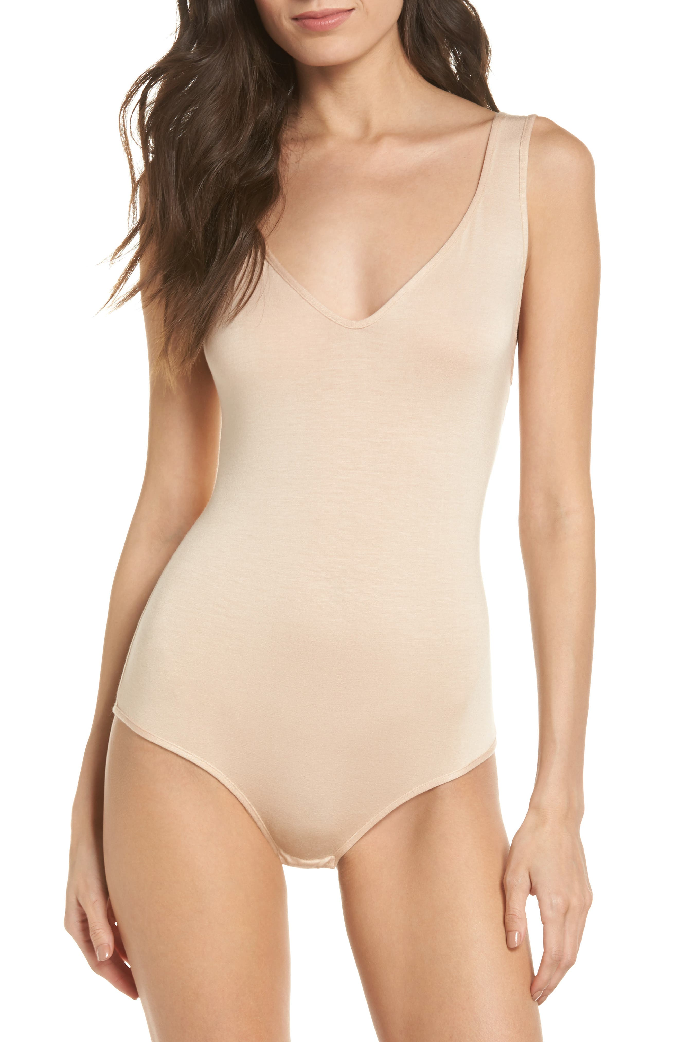 May Bodysuit,                         Main,                         color, Bare