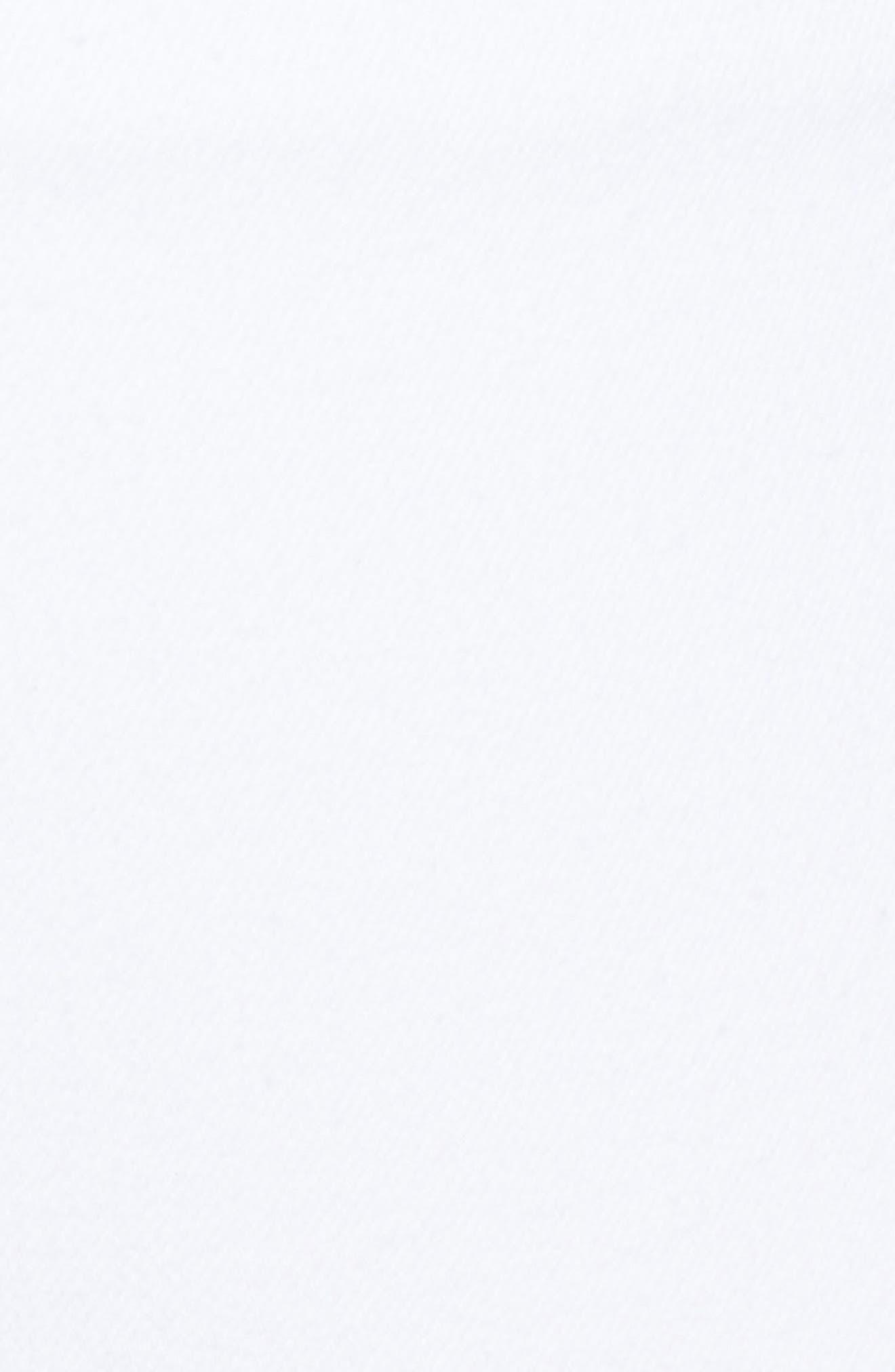 Selvedge Edge Denim Leggings,                             Alternate thumbnail 5, color,                             White