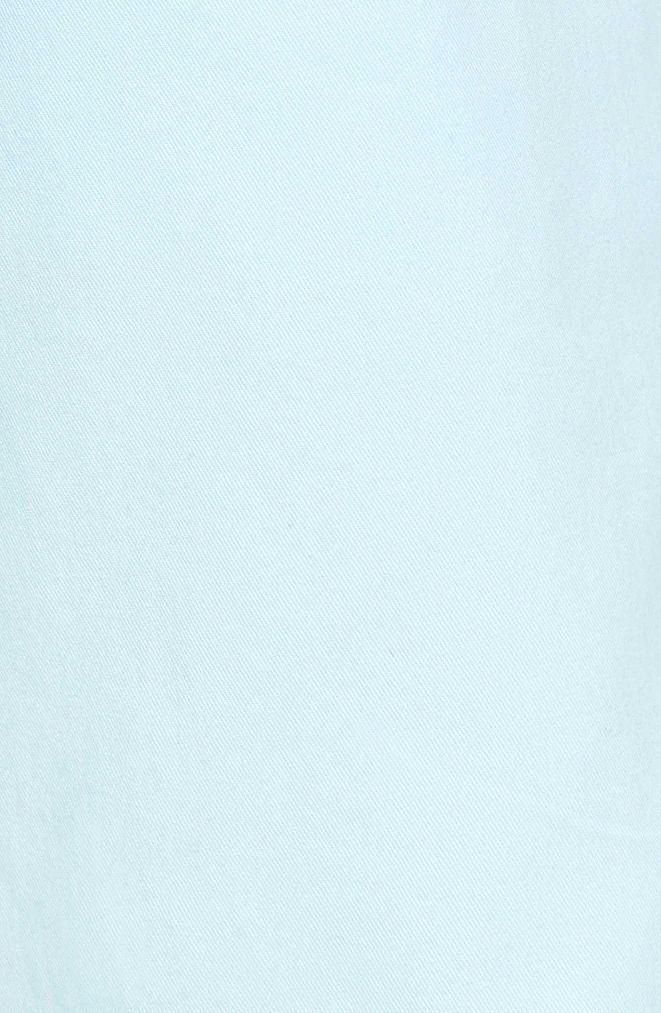 Ballard Slim Fit Stretch Chino 7-Inch Shorts,                             Alternate thumbnail 5, color,                             Blue Orydalis
