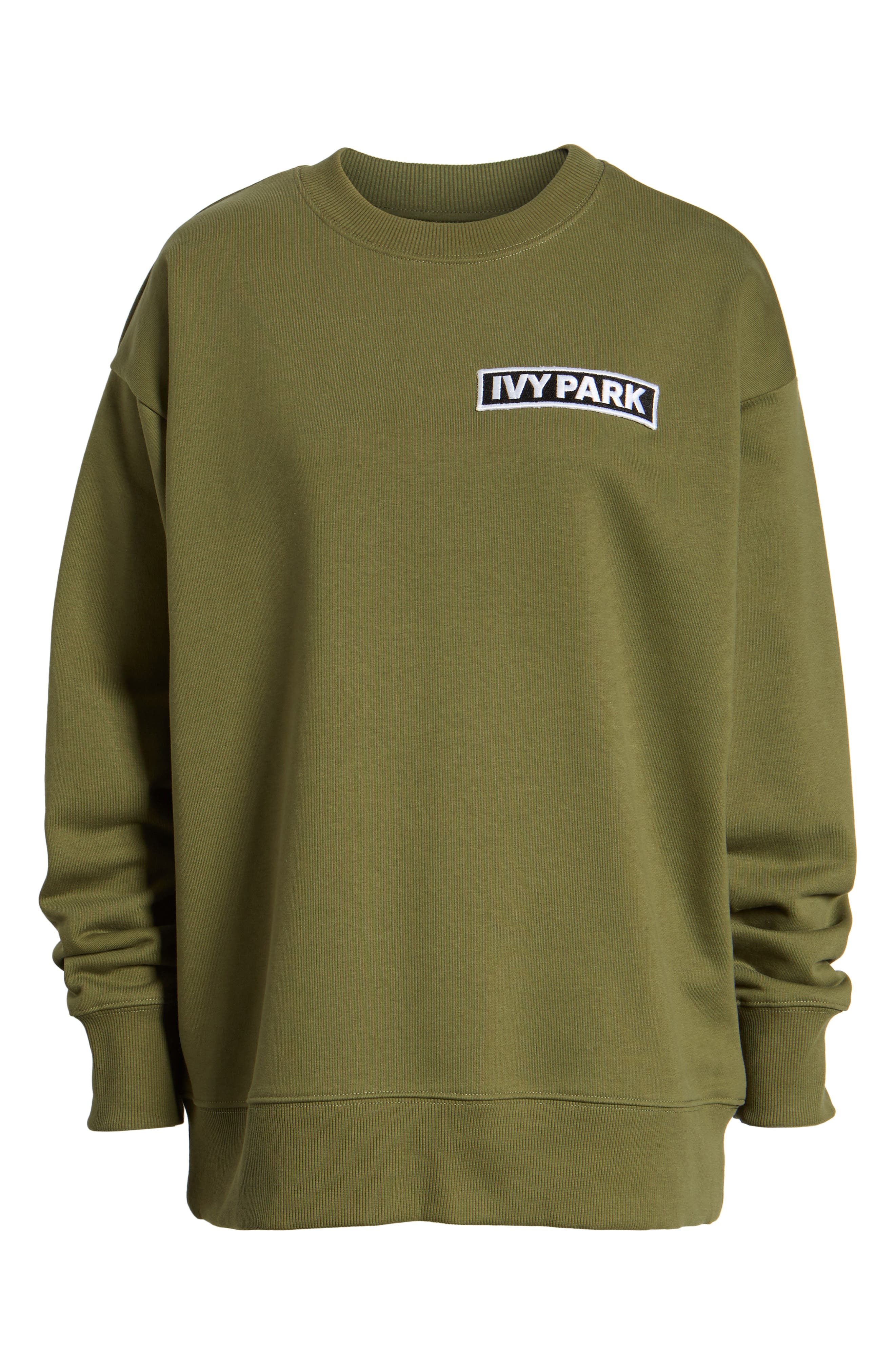 Alternate Image 6  - IVY PARK® Badge Logo Sweatshirt
