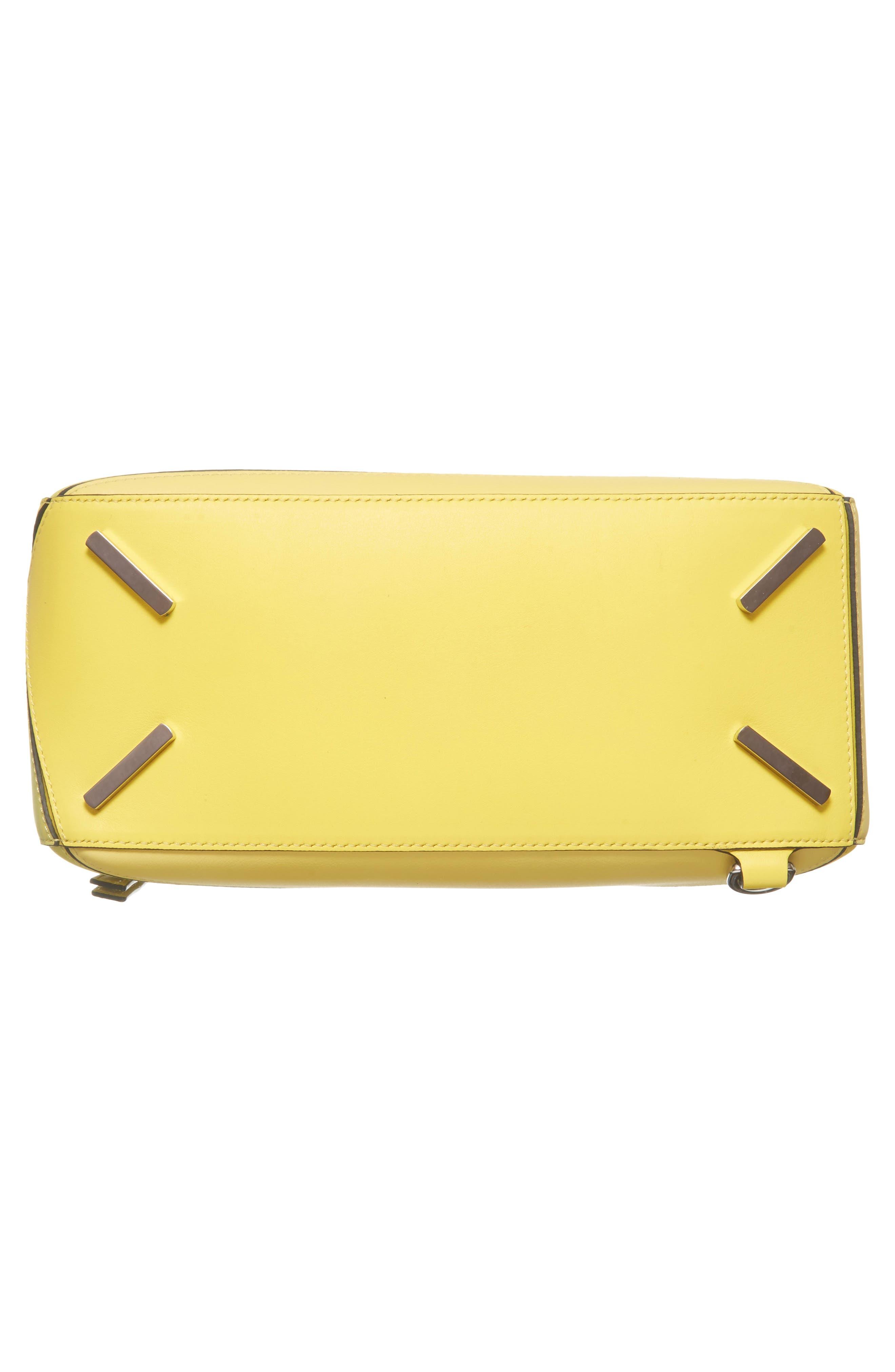 Medium Puzzle Calfskin Leather Shoulder Bag,                             Alternate thumbnail 7, color,                             Yellow Multitone