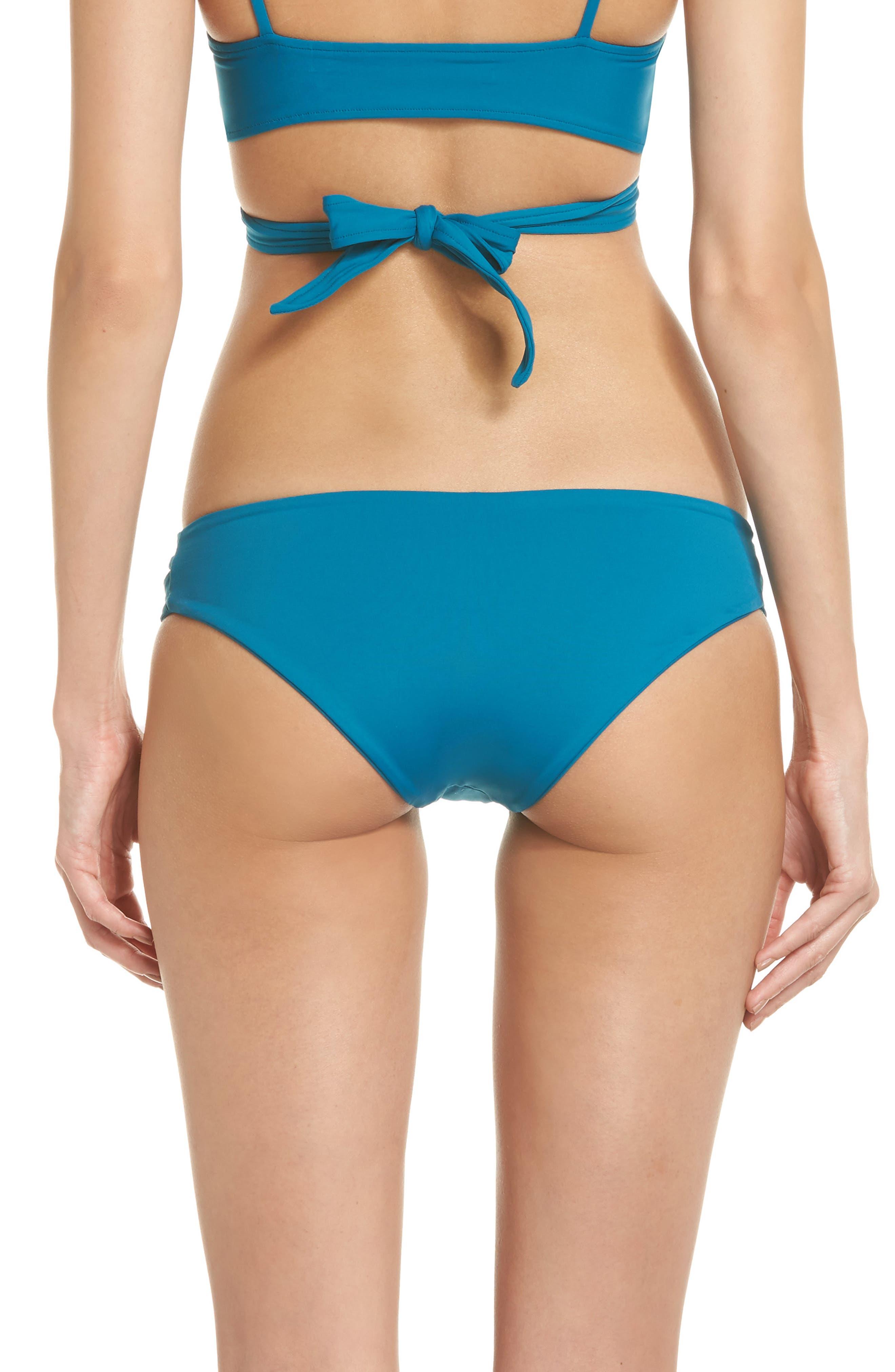 Estella Classic Bikini Bottoms,                             Alternate thumbnail 2, color,                             Mediterranean