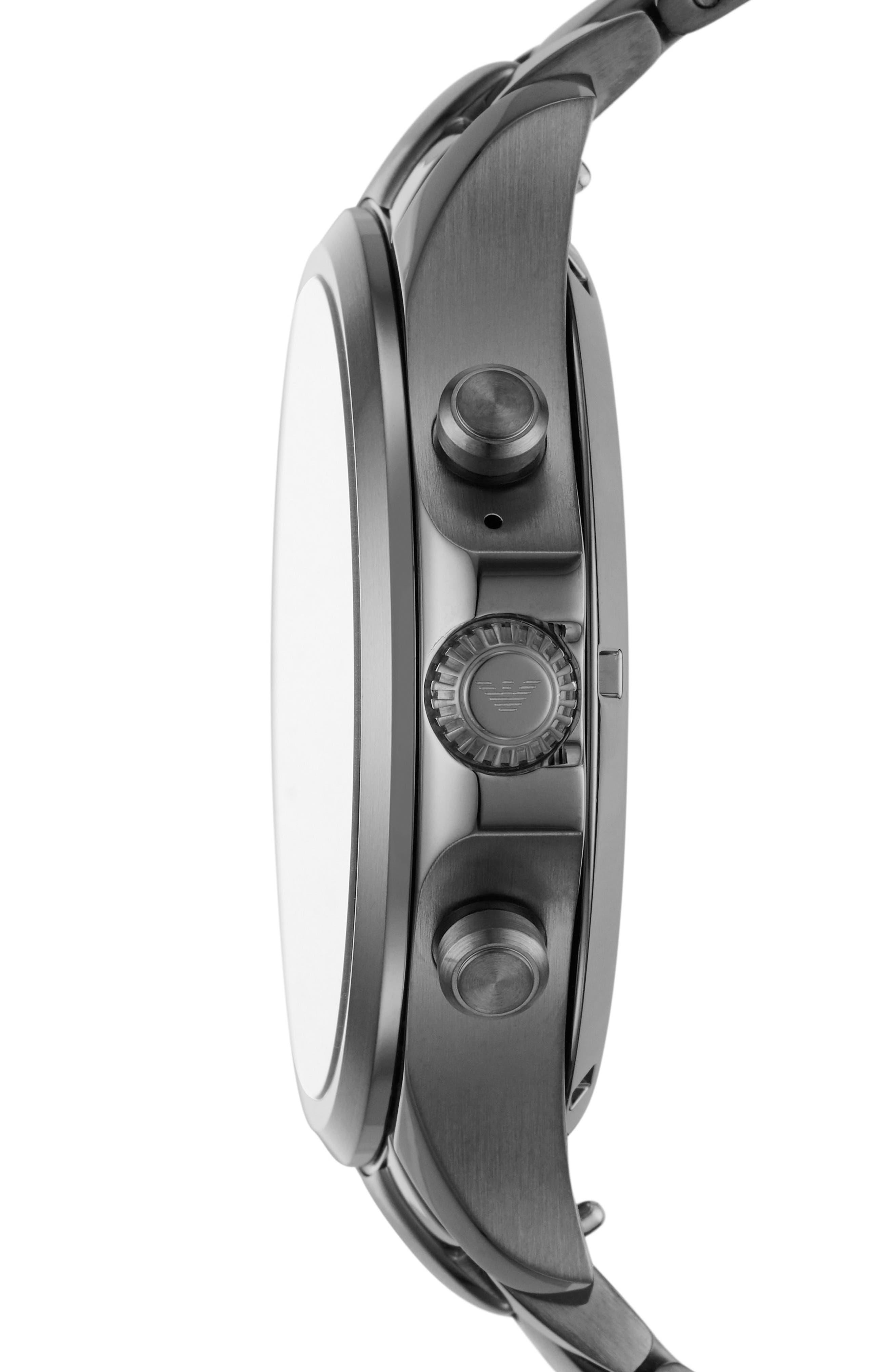 Smartwatch,                             Alternate thumbnail 2, color,                             Blue/ Gunmetal
