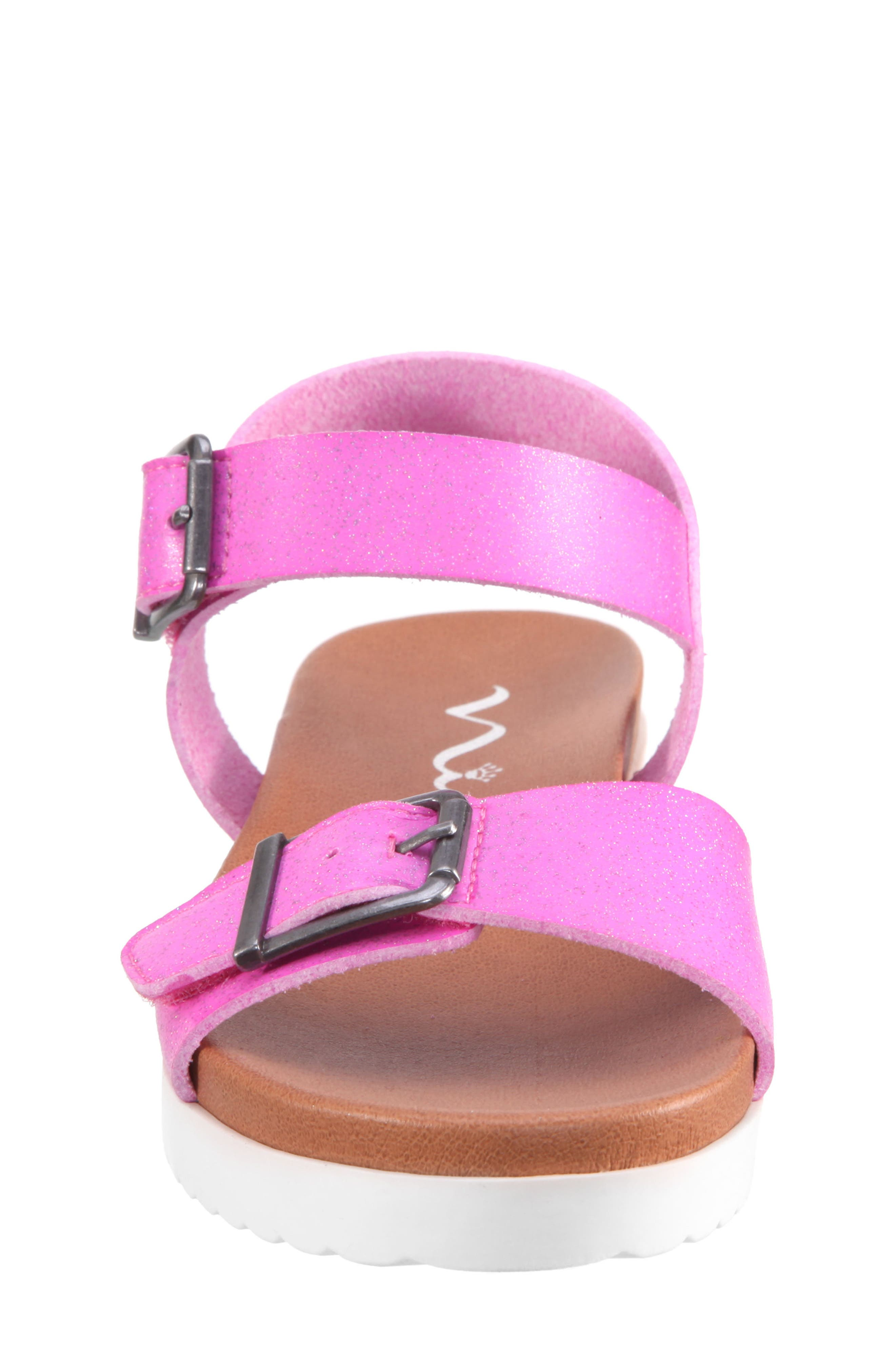 Jacklin3 Quarter Strap Sandal,                             Alternate thumbnail 4, color,                             Pink Dip Dye