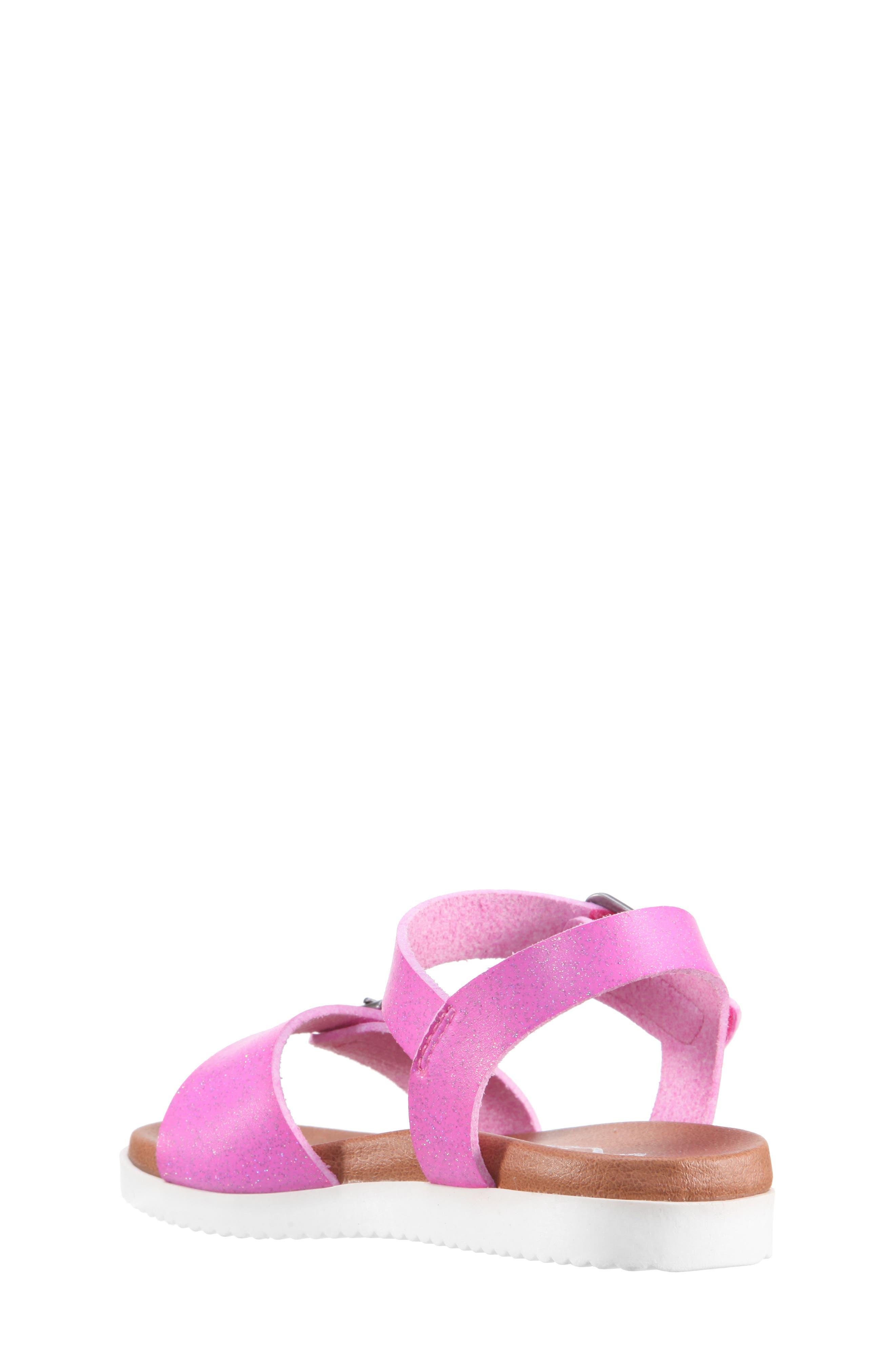 Jacklin3 Quarter Strap Sandal,                             Alternate thumbnail 2, color,                             Pink Dip Dye
