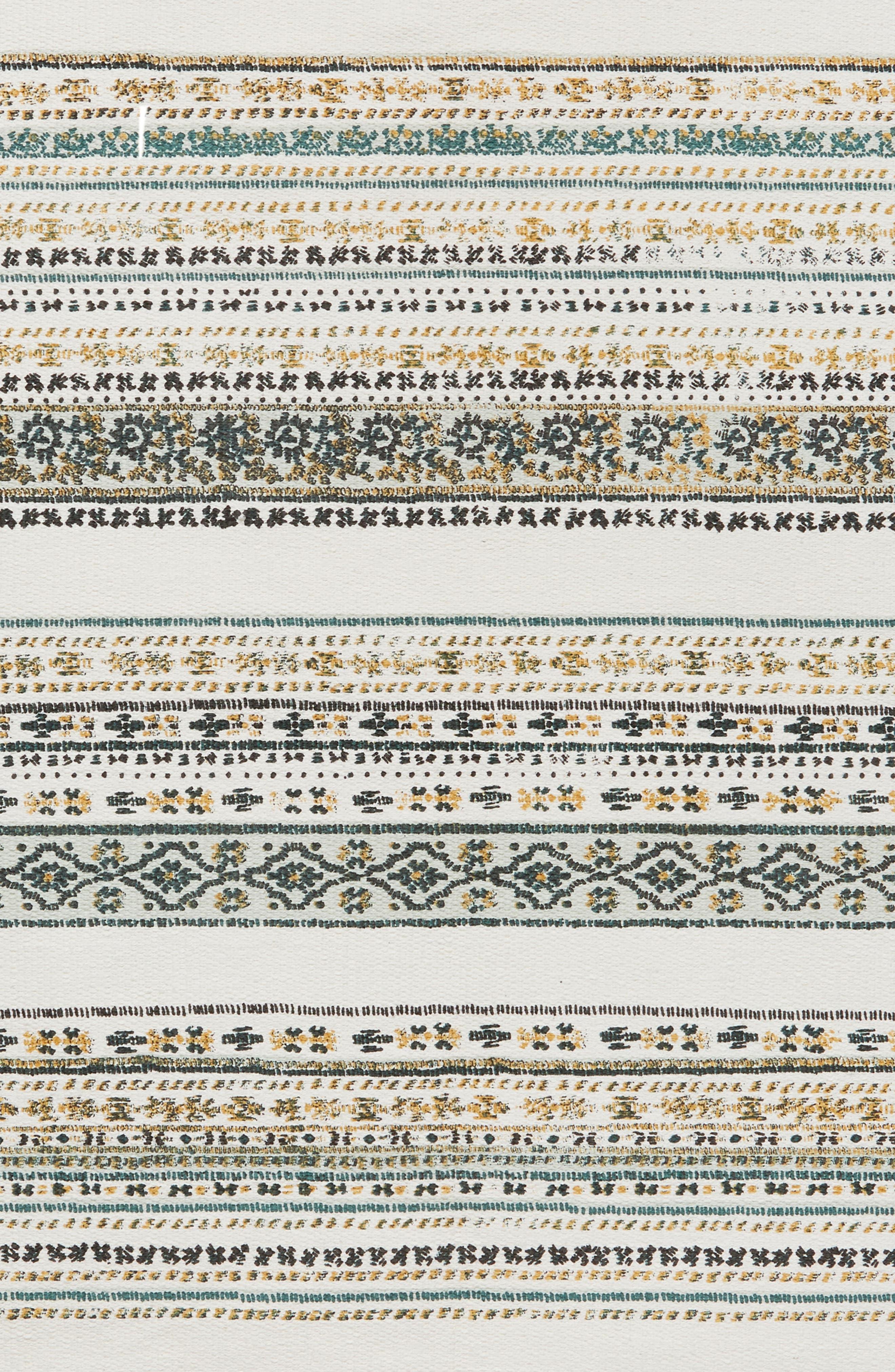 Stripe Rug,                             Alternate thumbnail 2, color,                             Ivory Multi