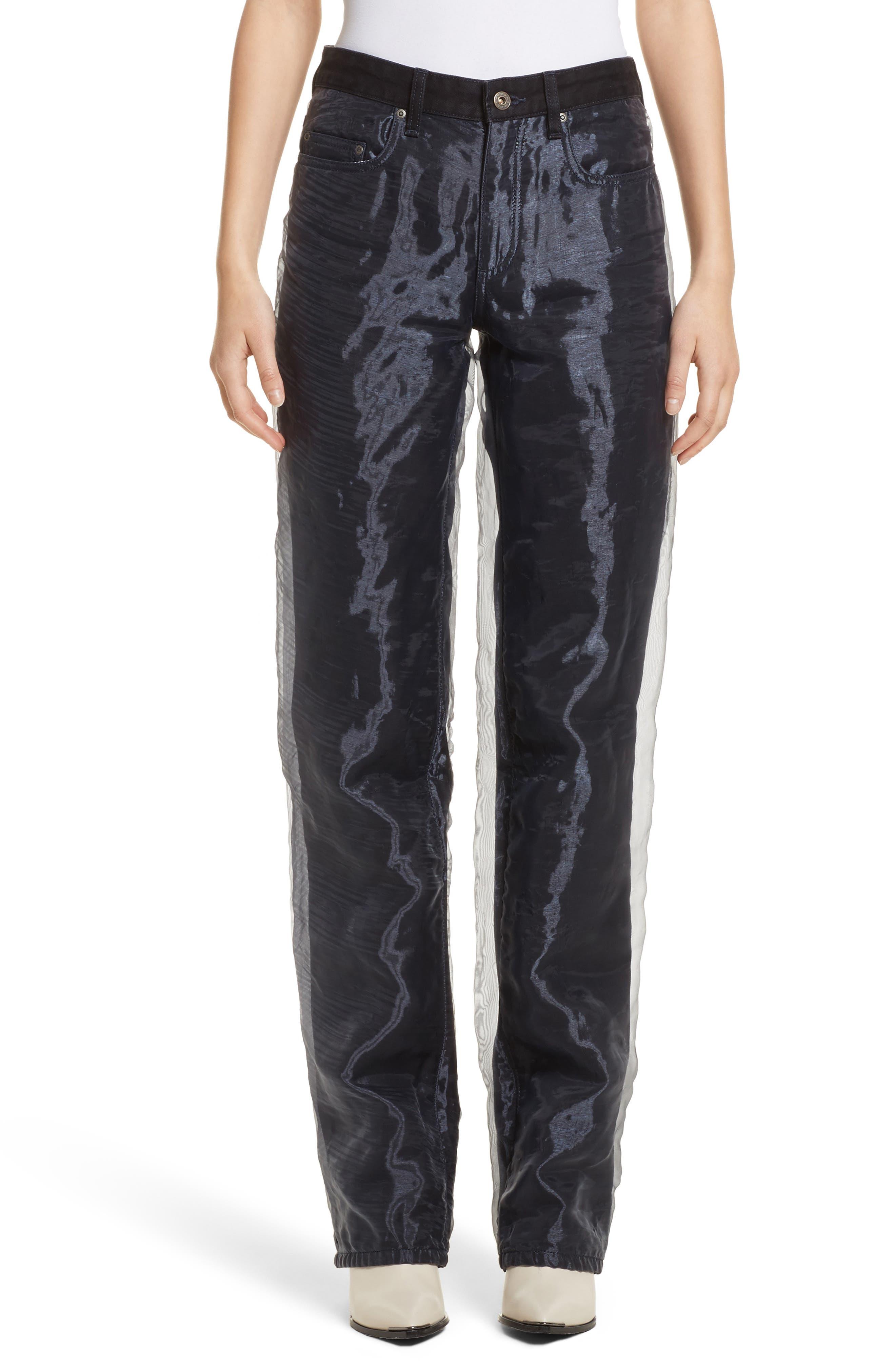 Y/PROJECT Organza Jeans (Noir)