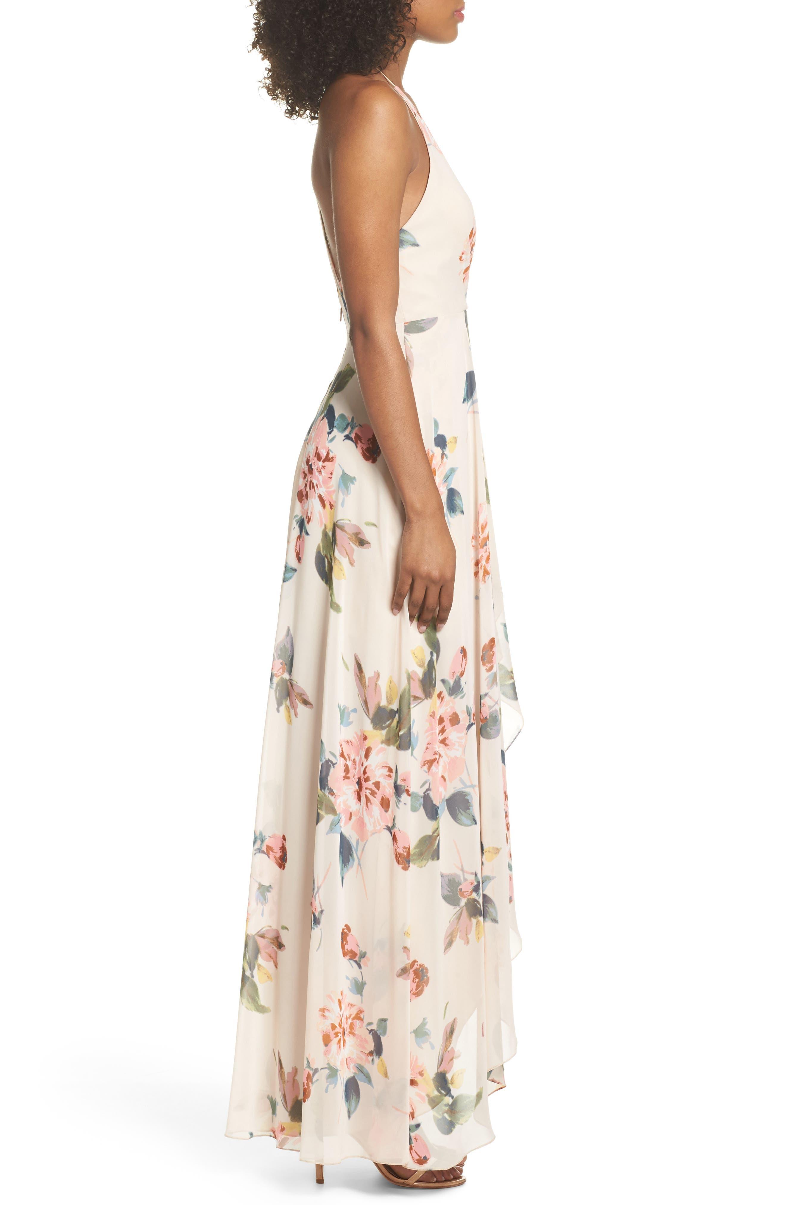 Alternate Image 3  - Jenny Yoo Farrah Halter Gown