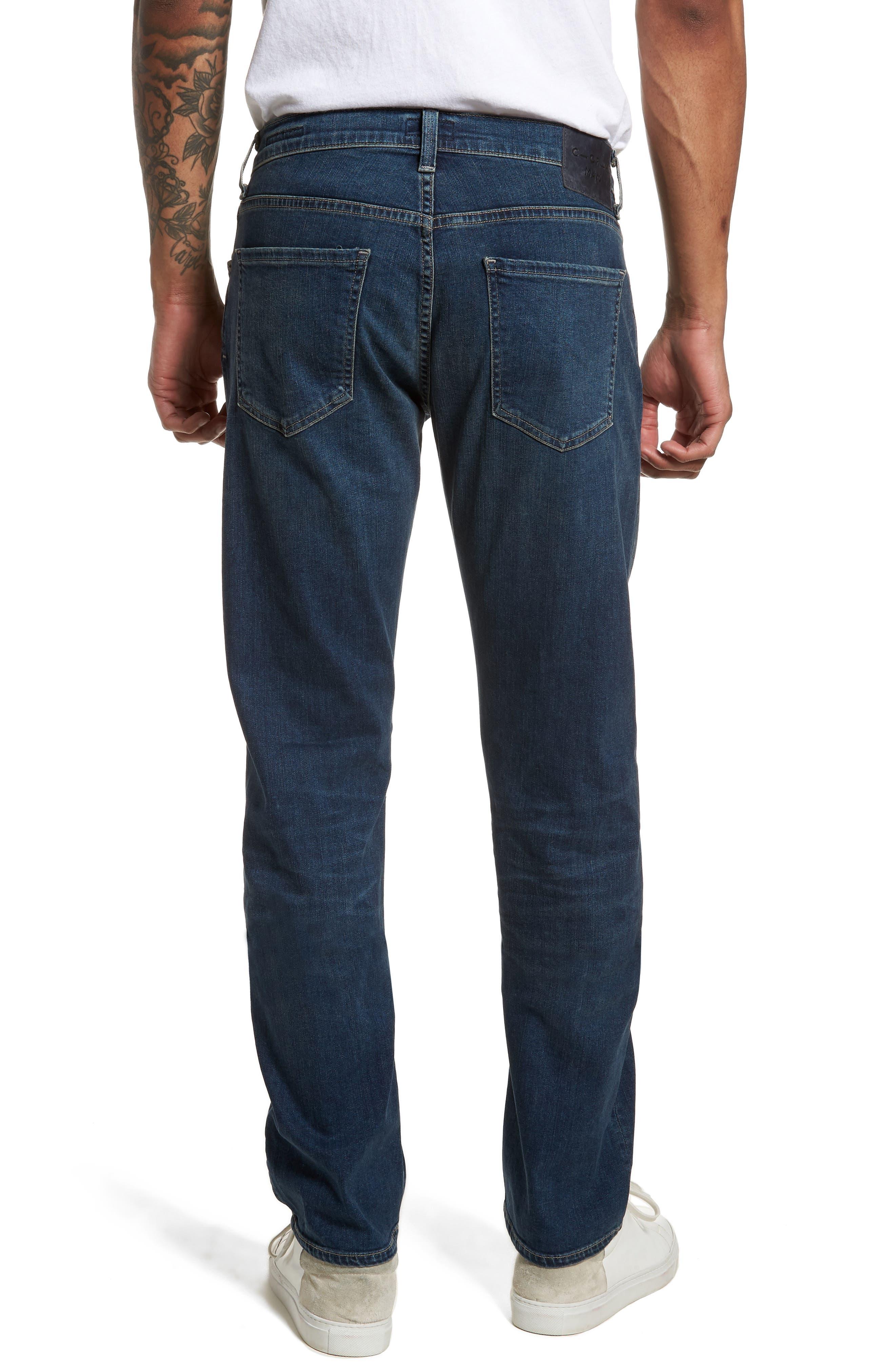 Core Slim Fit Jeans,                             Alternate thumbnail 2, color,                             Unison