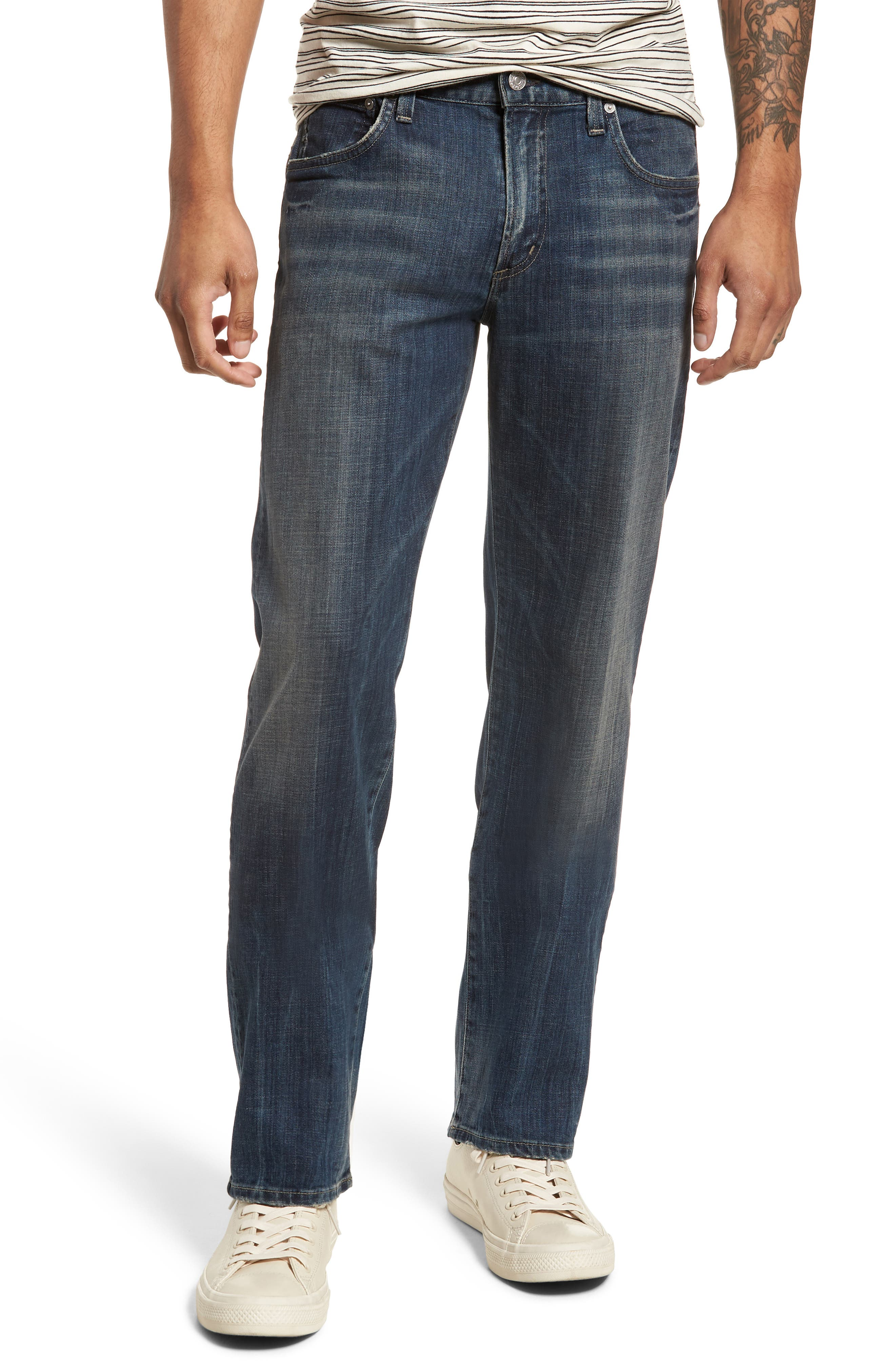 Sid Straight Leg Jeans,                             Main thumbnail 1, color,                             Reeves