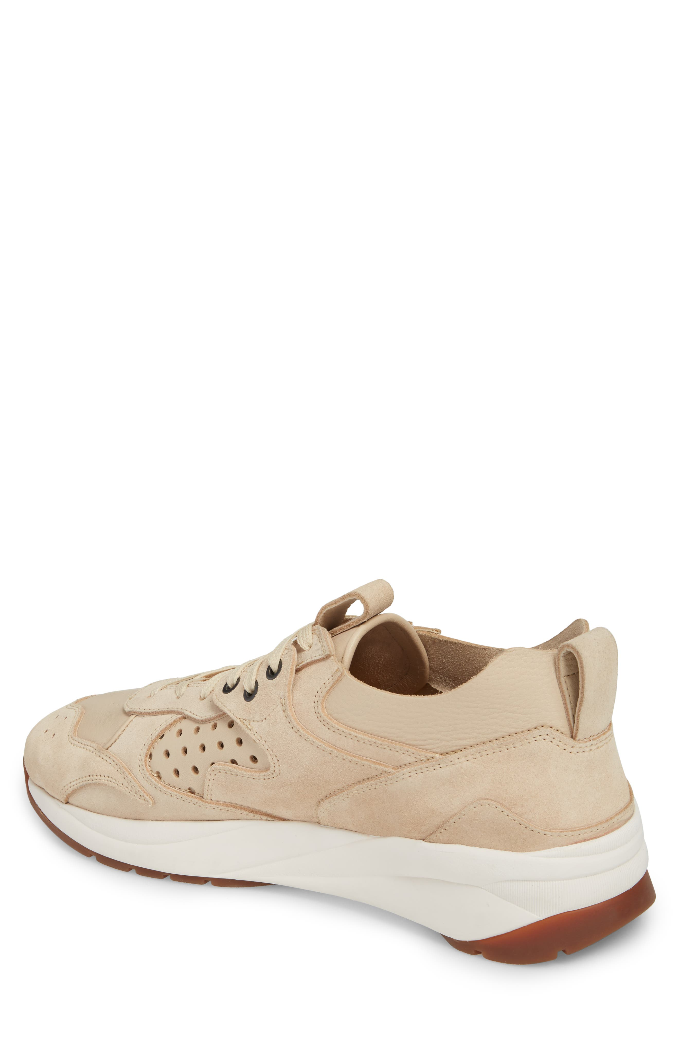 Champion Veloce Sneaker,                             Alternate thumbnail 2, color,                             Beige Suede