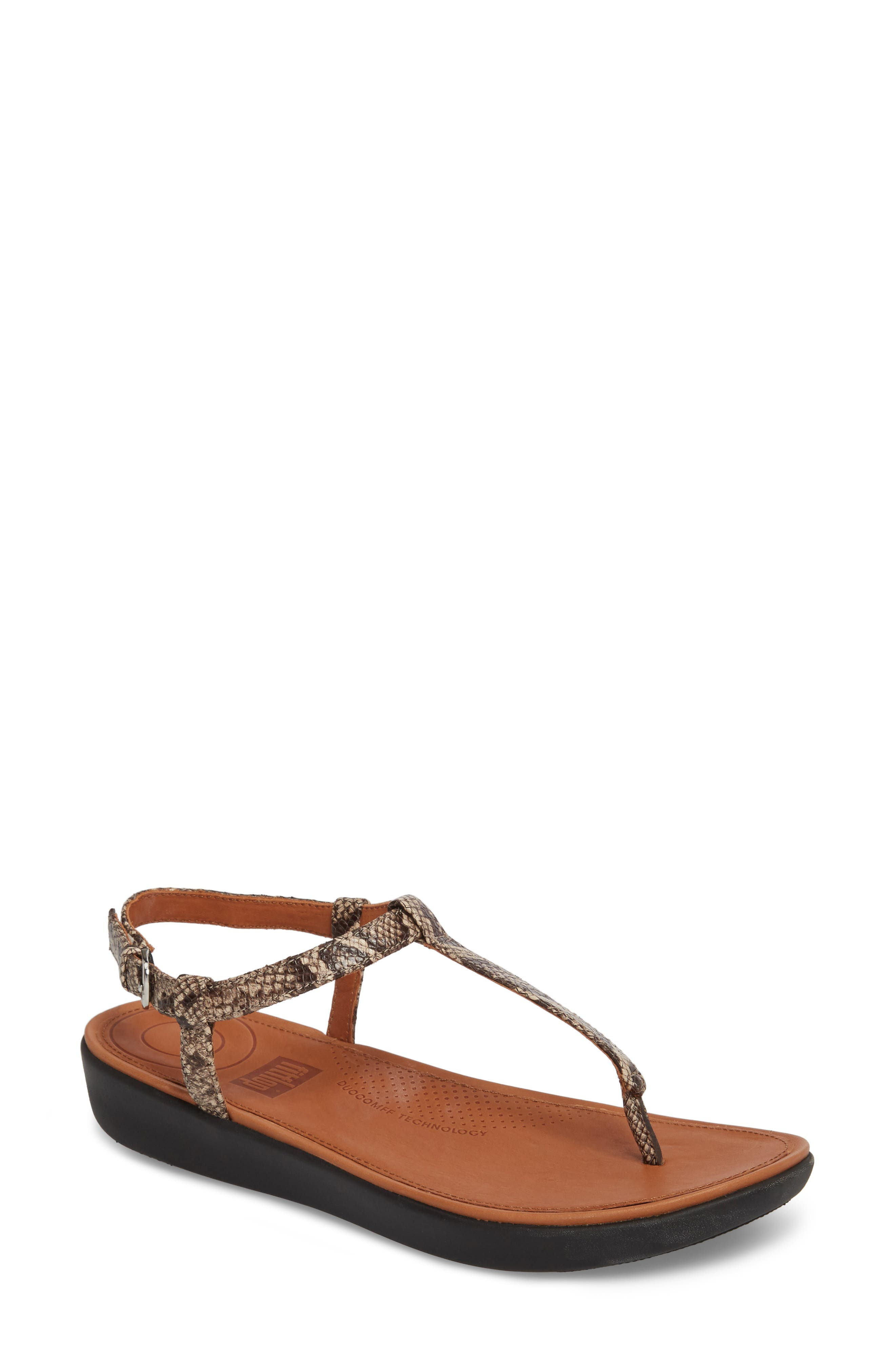 Alternate Image 1 Selected - FitFlop Tia Sandal (Women)