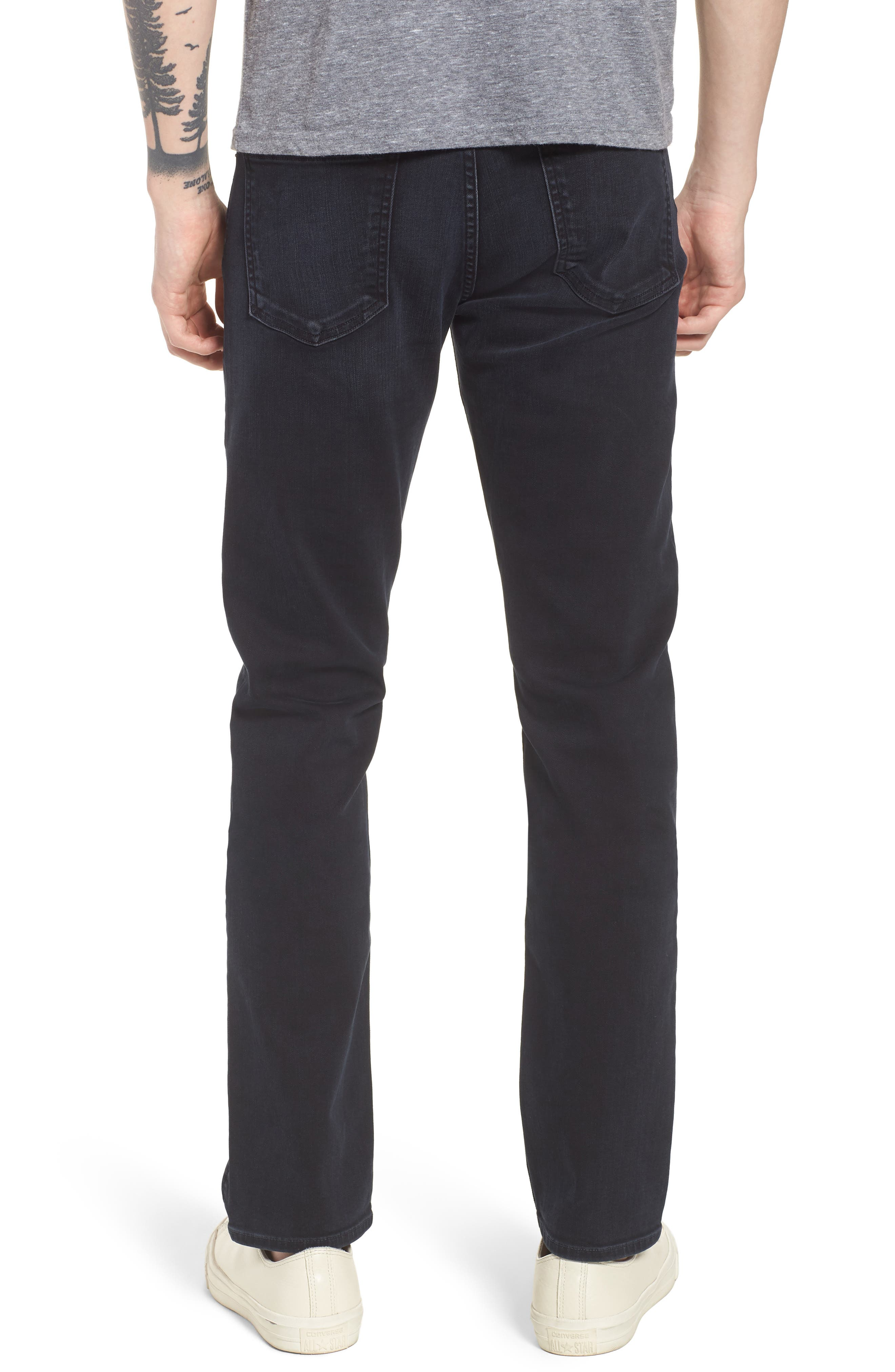 Bowery Slim Fit Jeans,                             Alternate thumbnail 2, color,                             Ink