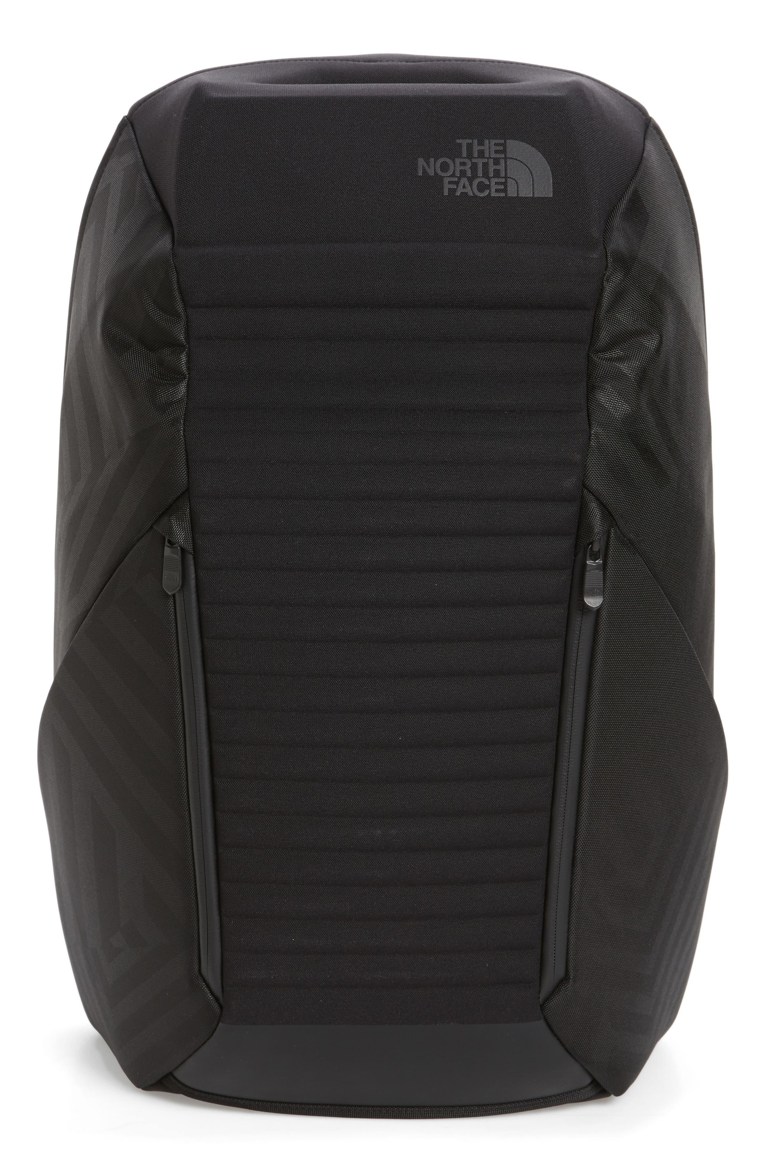 Access Backpack,                             Main thumbnail 1, color,                             Black/ Black