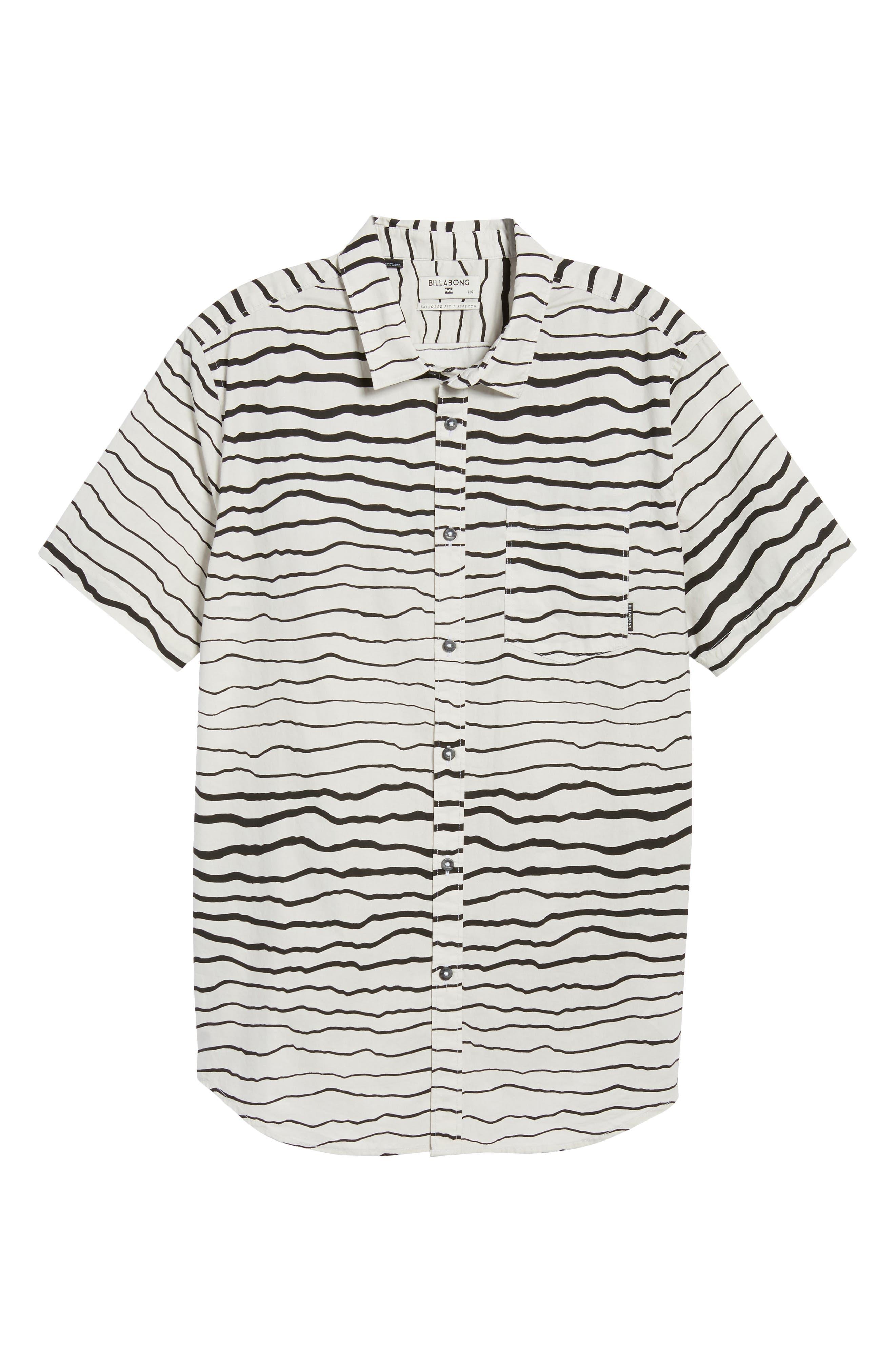 Sundays Lines Shirt,                             Alternate thumbnail 6, color,                             Stone