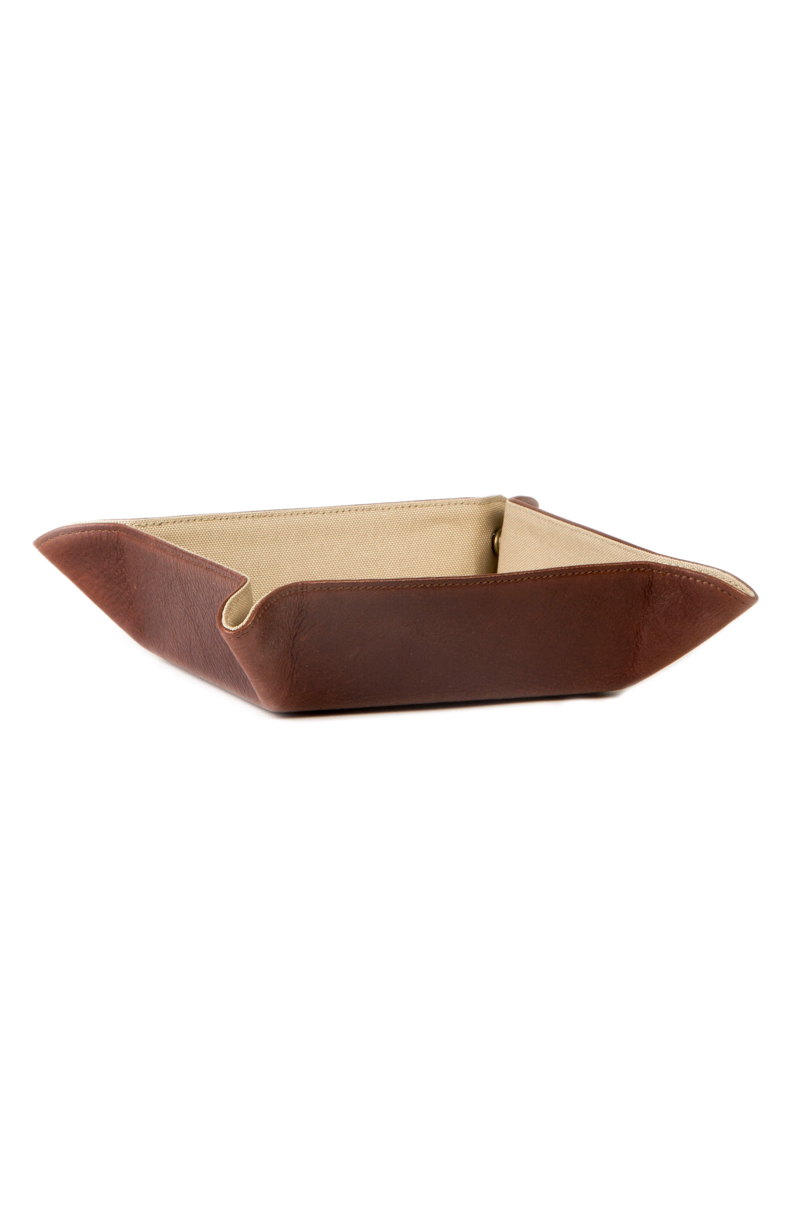 Becker Catchall Tray,                             Alternate thumbnail 3, color,                             Whiskey