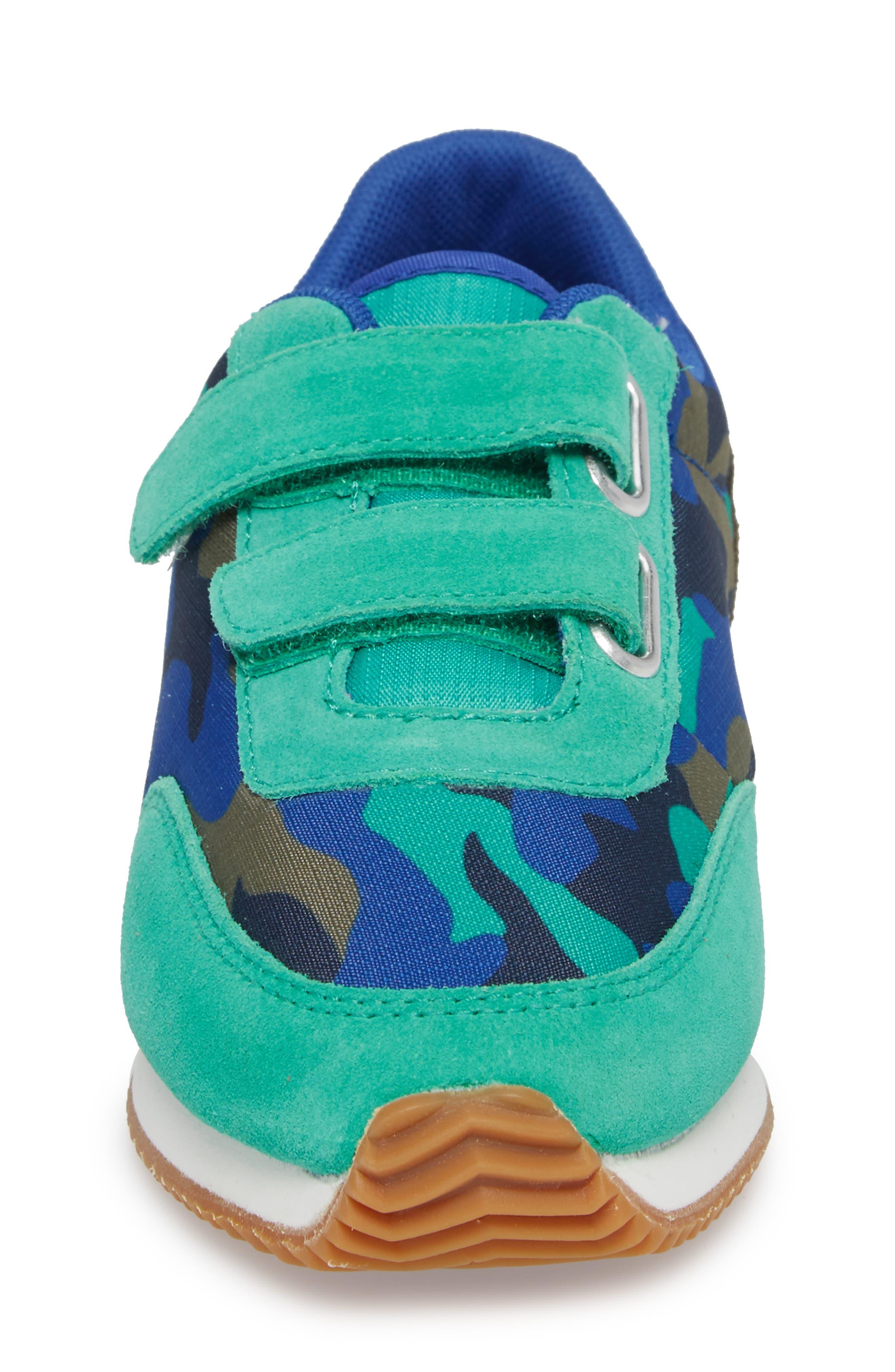Print Sneakers,                             Alternate thumbnail 4, color,                             Astro Green