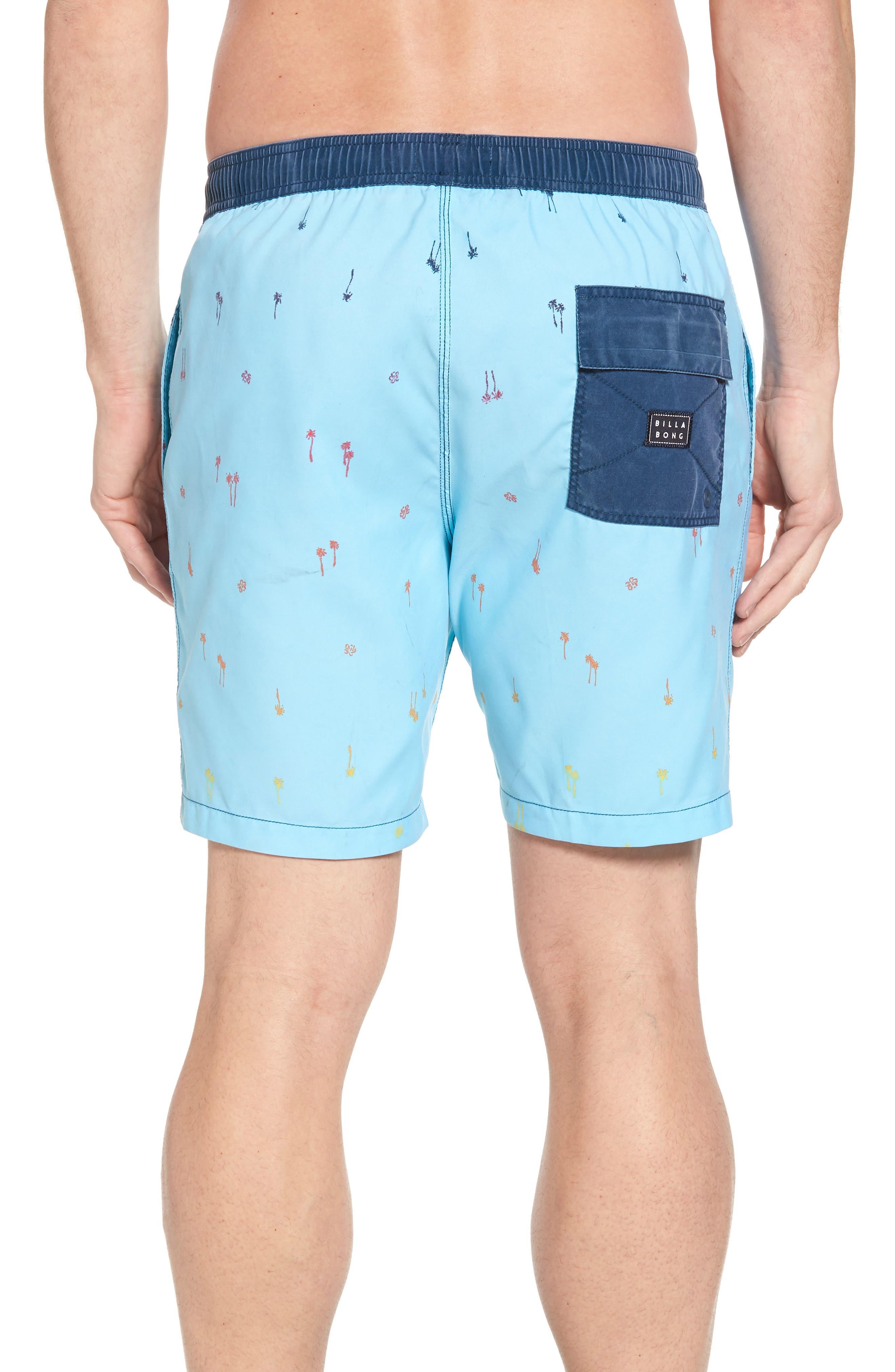 Sundays Layback Board Shorts,                             Alternate thumbnail 2, color,                             Light Blue