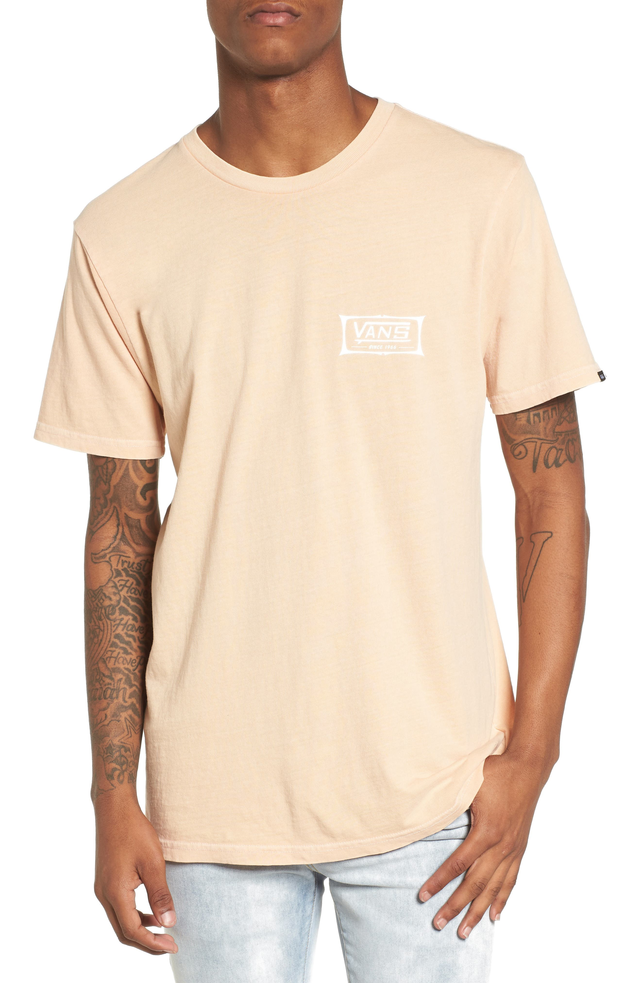Original Shaper Graphic T-Shirt,                         Main,                         color, Apricot Ice